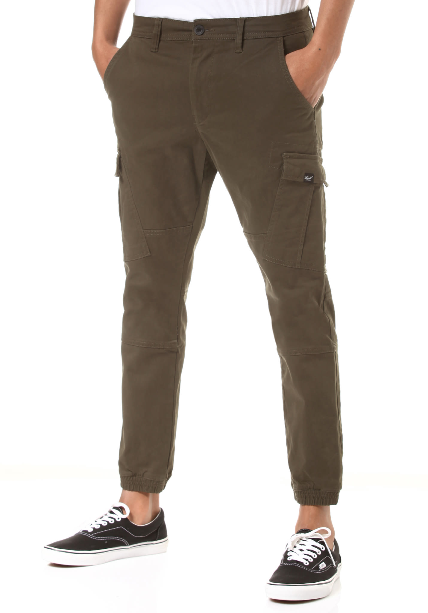 feb9aeb8ba0bb0 Reell Jogger - Cargo Pants for Men - Green - Planet Sports