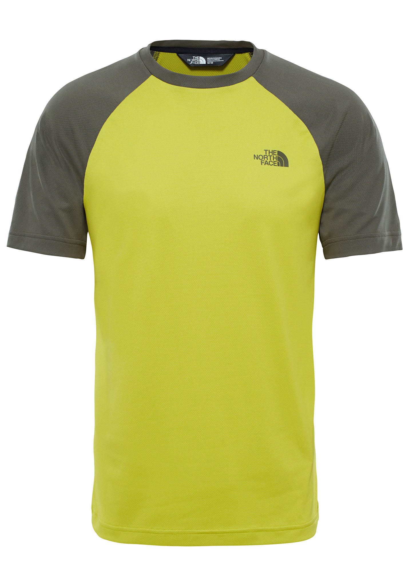 c3134dbe2 THE NORTH FACE Tanken - T-Shirt for Men - Yellow