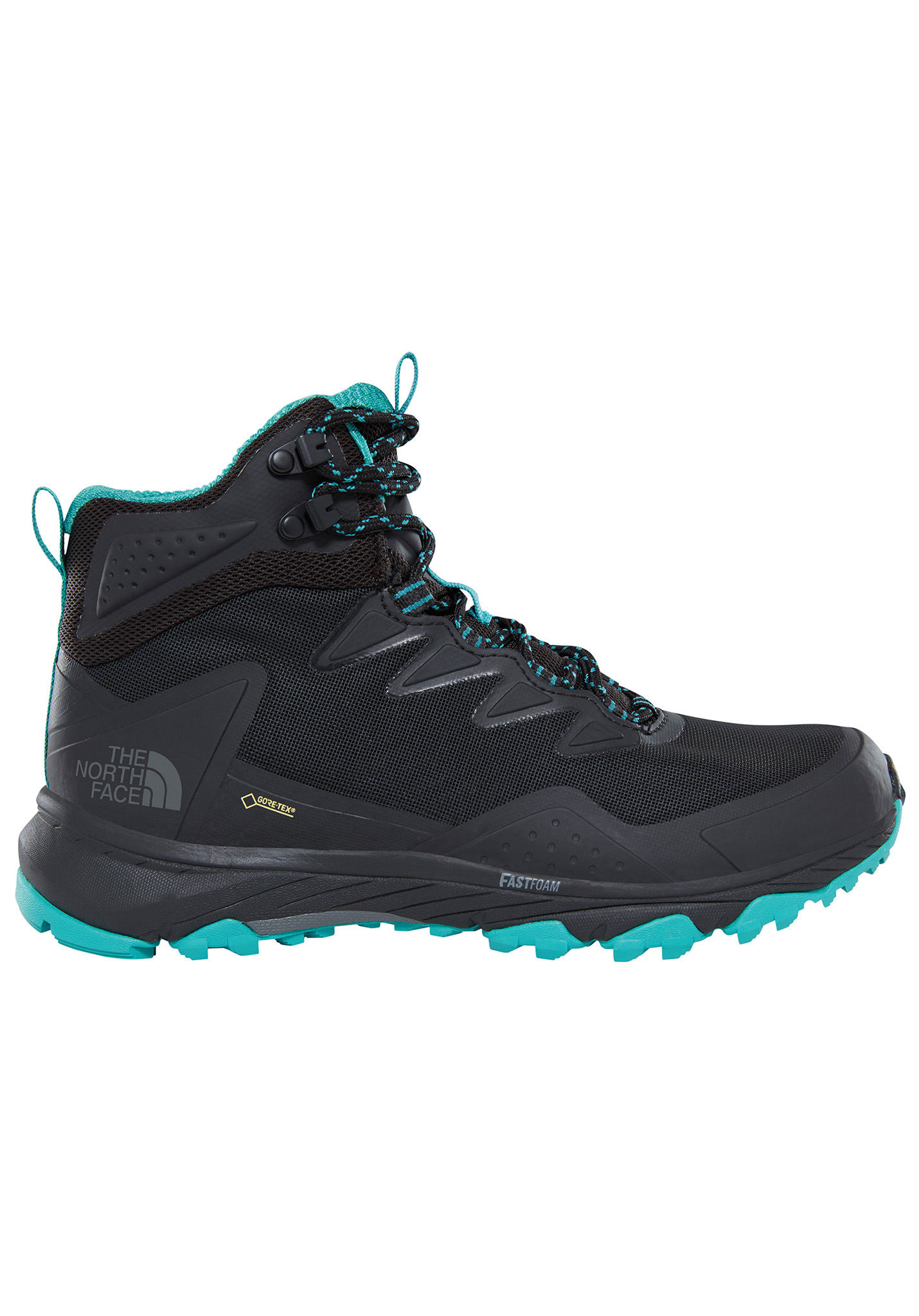 THE NORTH FACE Utra Fastpack III Mid GTX - Trekking Shoes for Women - Black  - Planet Sports 883c4b5be777