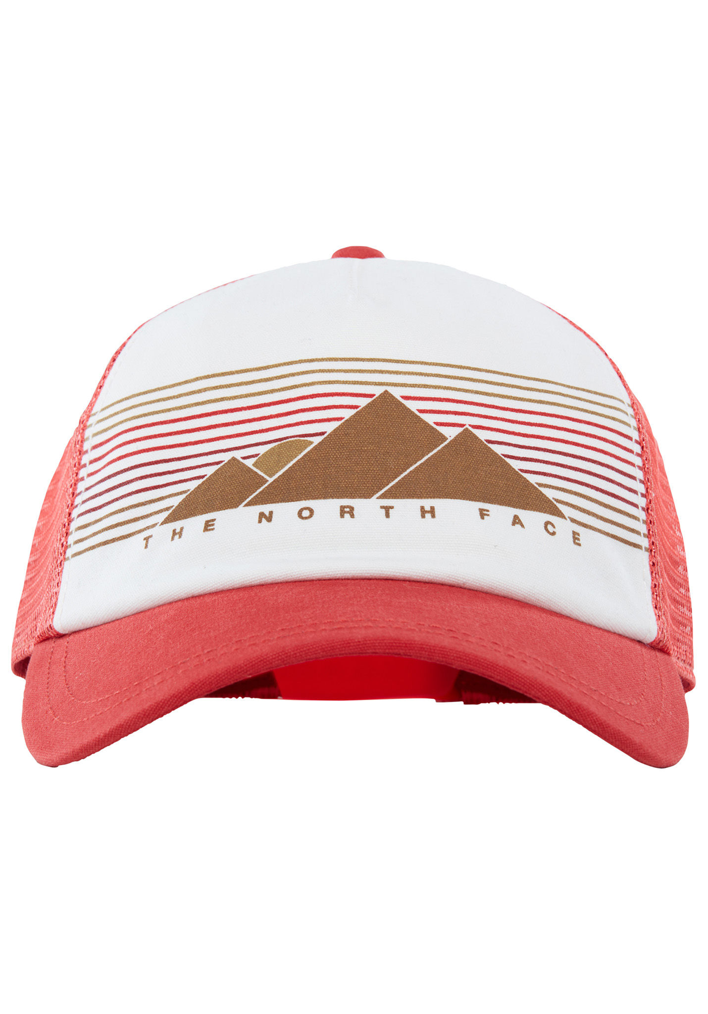 fc19a3eec53 THE NORTH FACE Lo Pro - Trucker Cap for Women - Red - Planet Sports