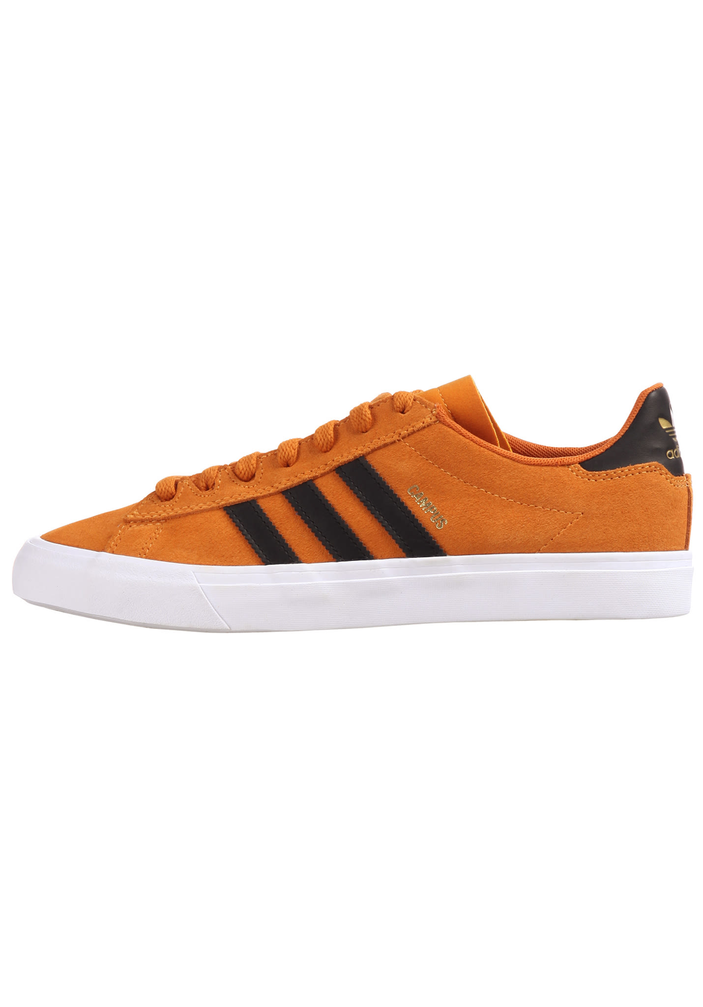 hot sale online 8ec28 356b6 Adidas Skateboarding Campus Vulc II - Baskets pour Homme - Orange - Planet  Sports