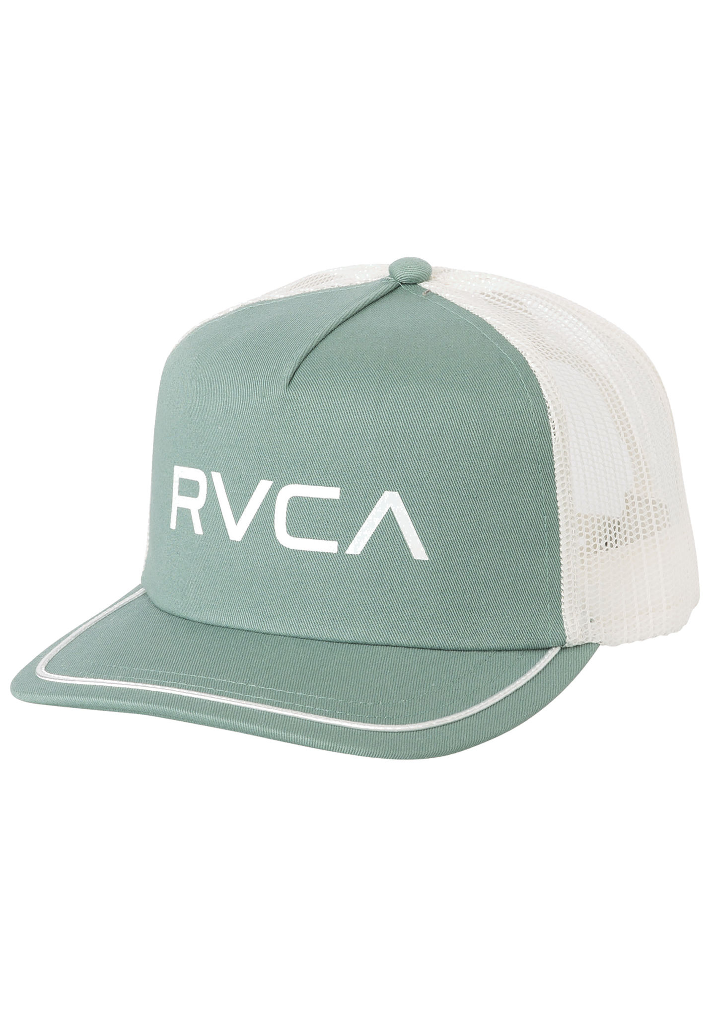 b56f002f0e6 RVCA Title - Trucker Cap for Women - Green - Planet Sports