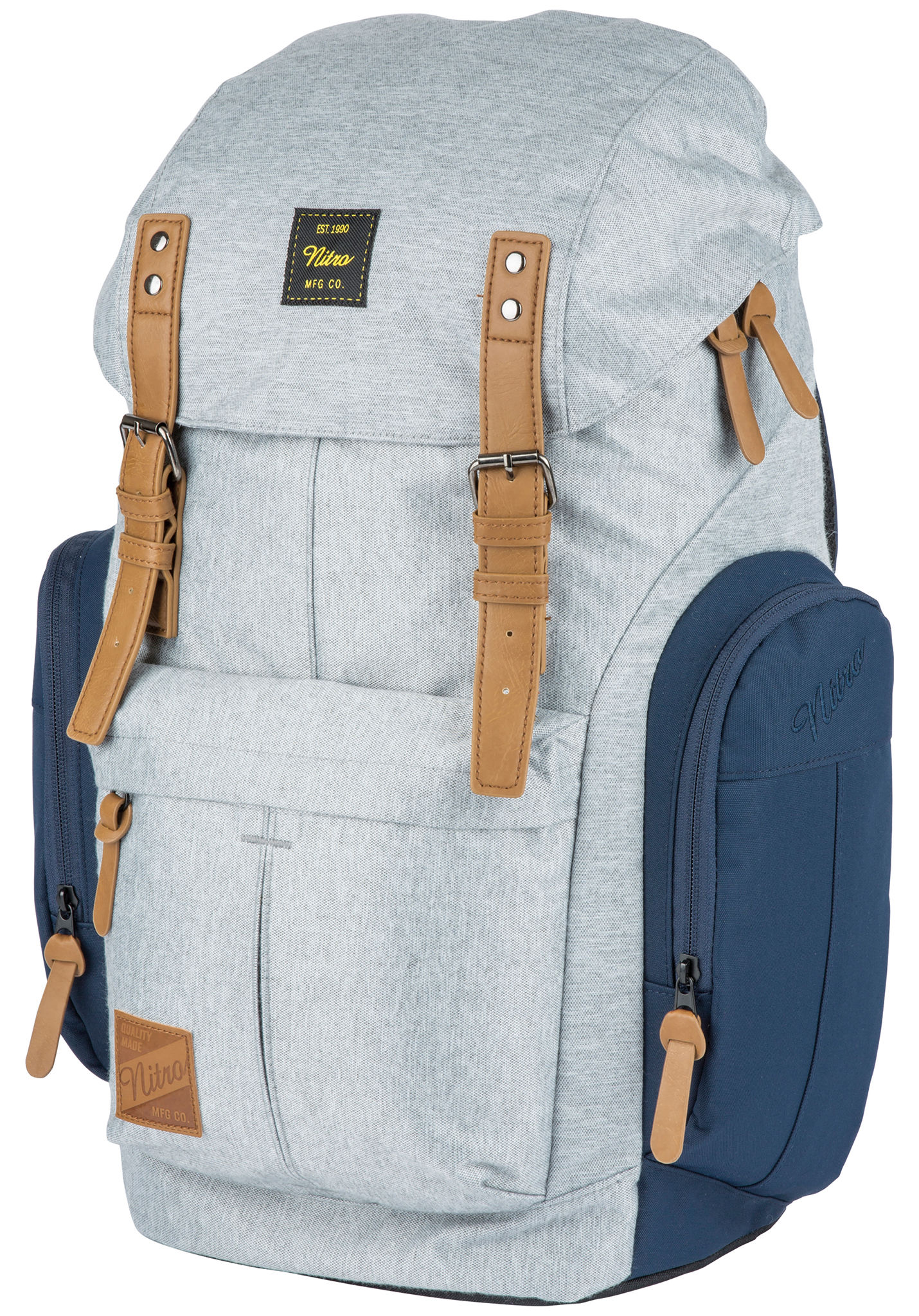 b41a2cd13f NITRO Daypacker 32L - Sac à dos - Gris - Planet Sports