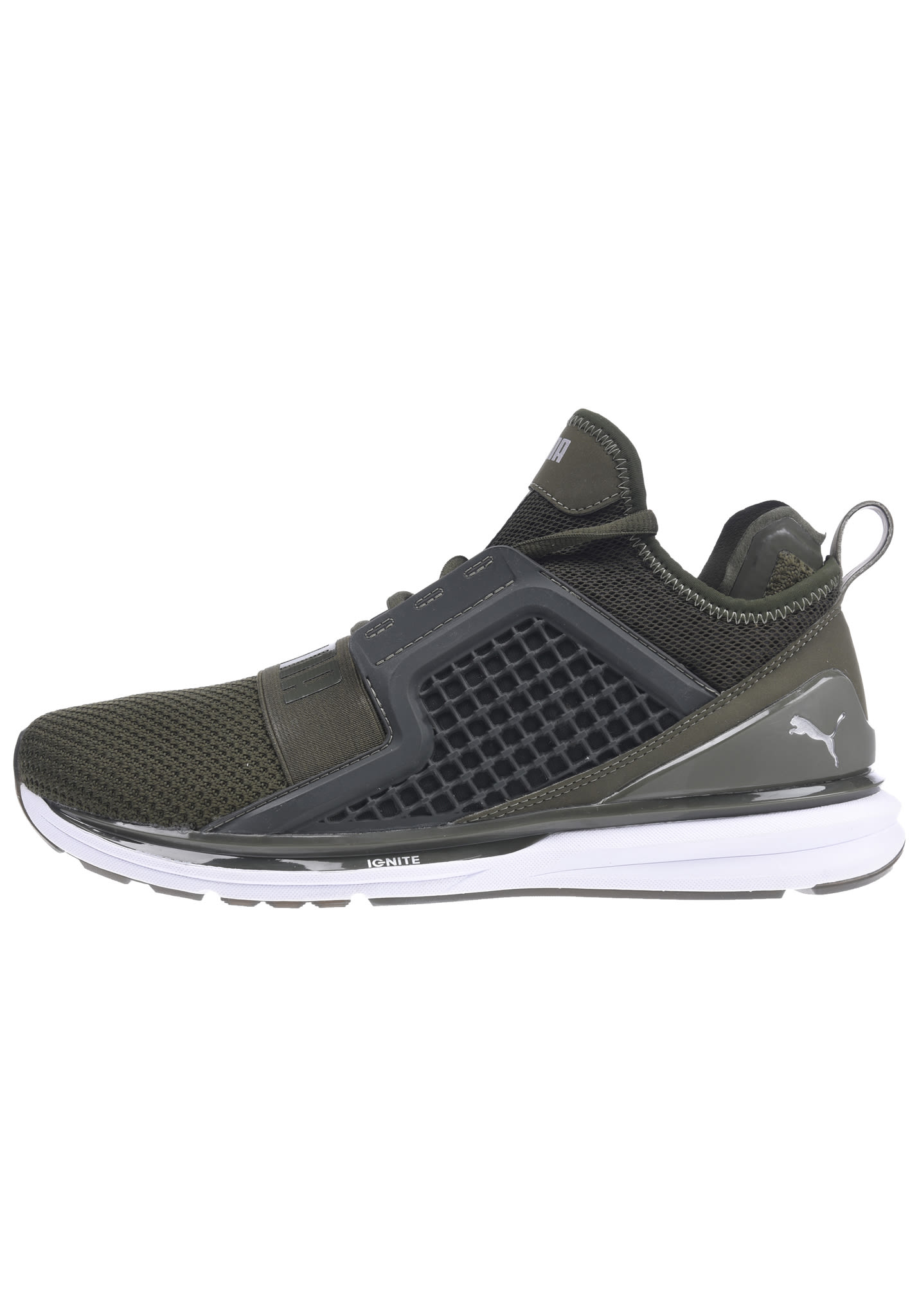 Puma Ignite Limitless Weave - Sneakers for Men - Green - Planet Sports b25e3940a