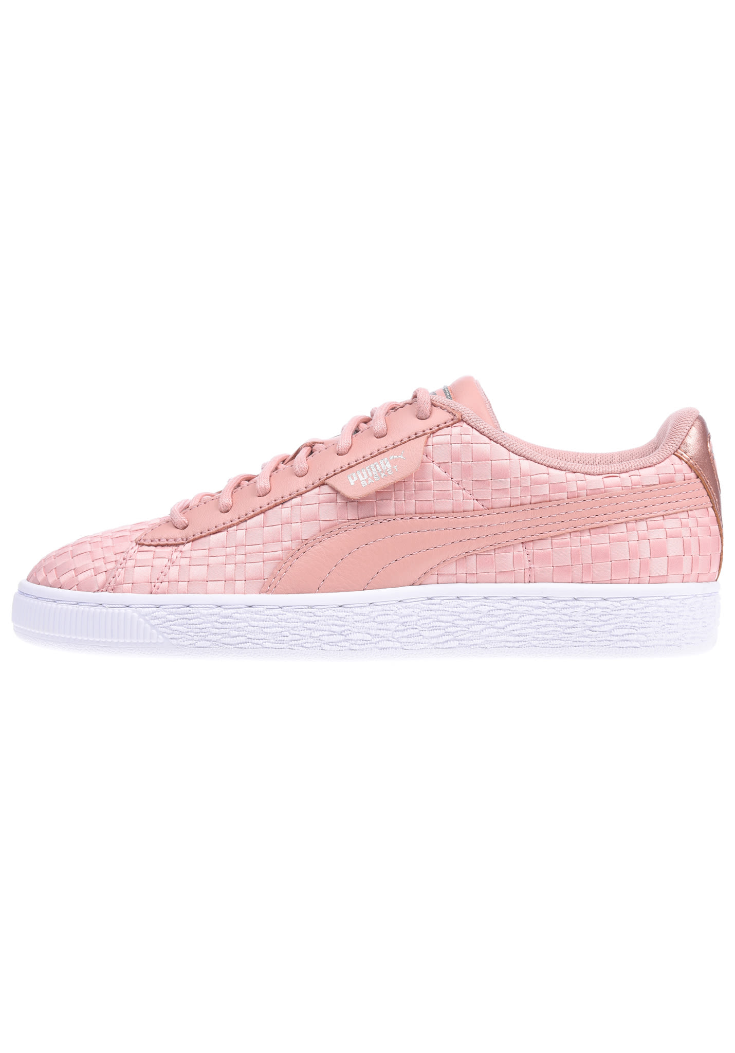 8e353f2190666b Puma Basket Satin En Pointe - Sneakers for Women - Pink