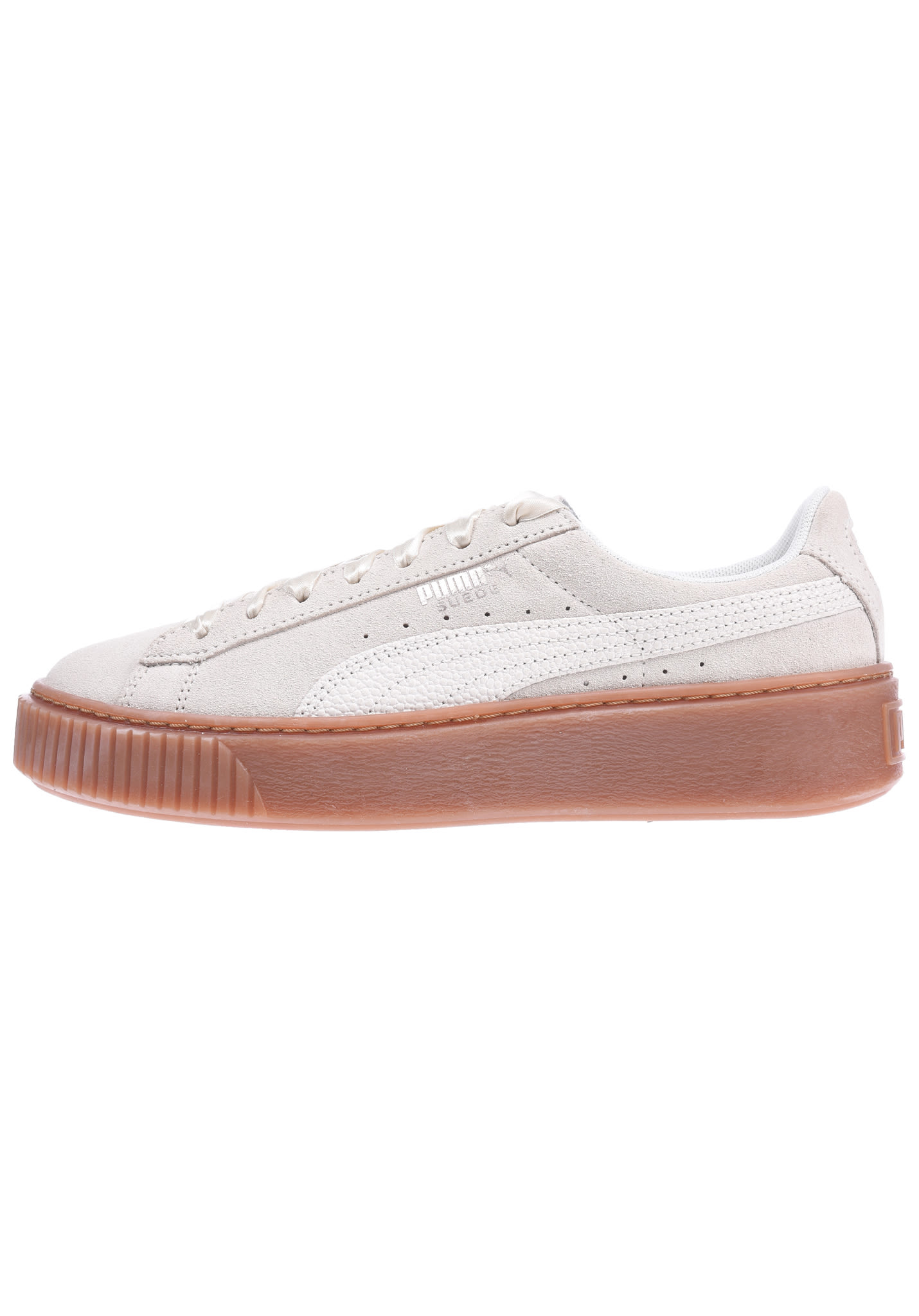 differently da7b4 2e241 Puma Suede Platform Bubble - Sneakers for Women - Beige