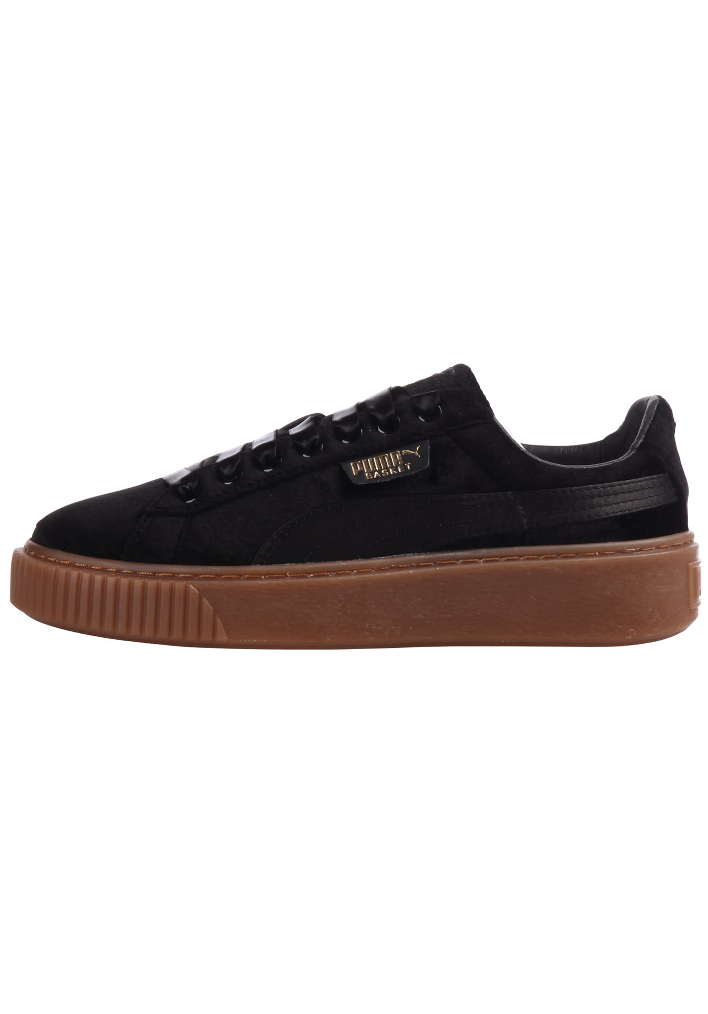 bcd377b8bd93 Puma Basket Platform VS - Sneakers for Women - Black - Planet Sports