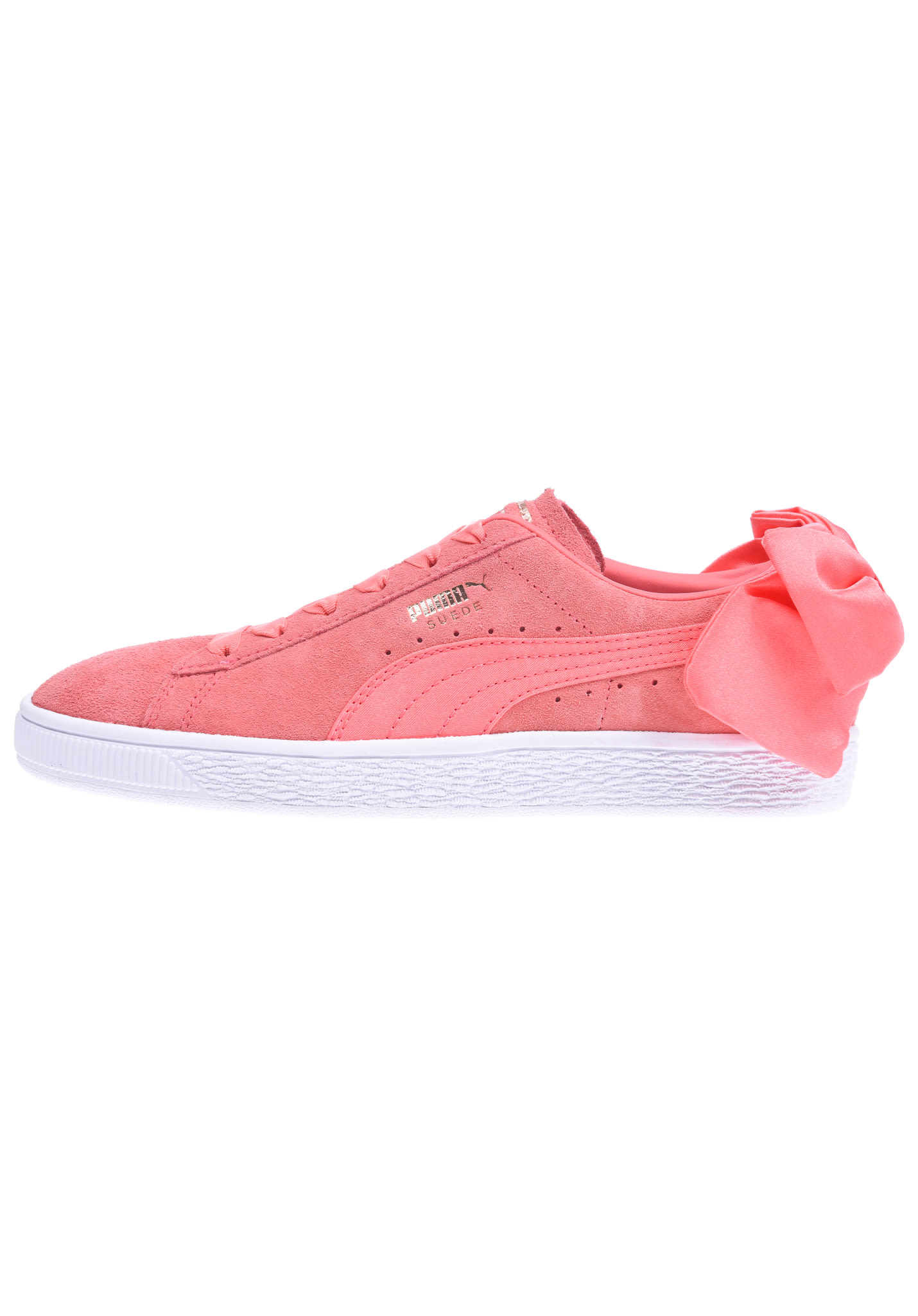 25157bdadd605d Puma Suede Bow - Sneakers for Women - Pink - Planet Sports