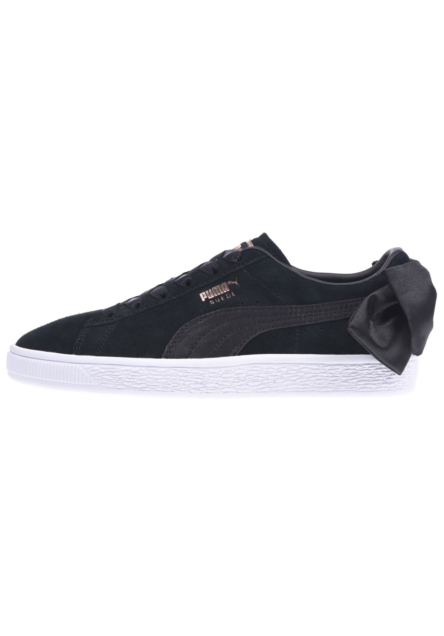 32d817bc56a2 Puma Suede Bow - Sneakers for Women - Black - Planet Sports