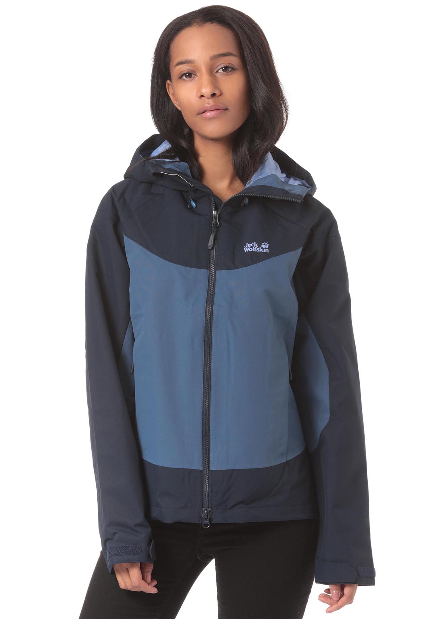 official photos f24fa eea69 Jack Wolfskin North Ridge - Outdoorjacke für Damen - Blau