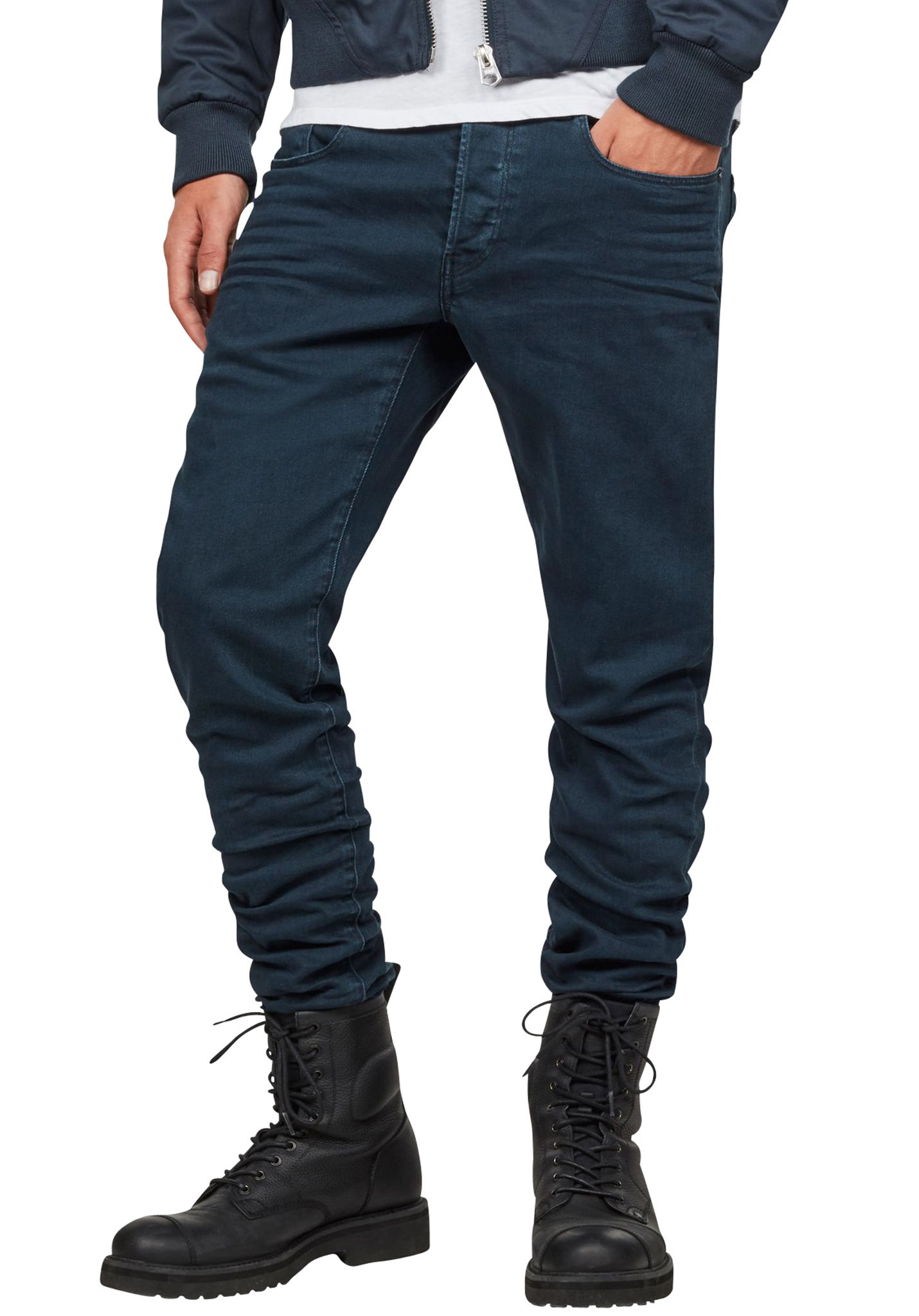 09684b916d7dd5 G-STAR 3301 Slim Coj - Trousers for Men - Blue - Planet Sports