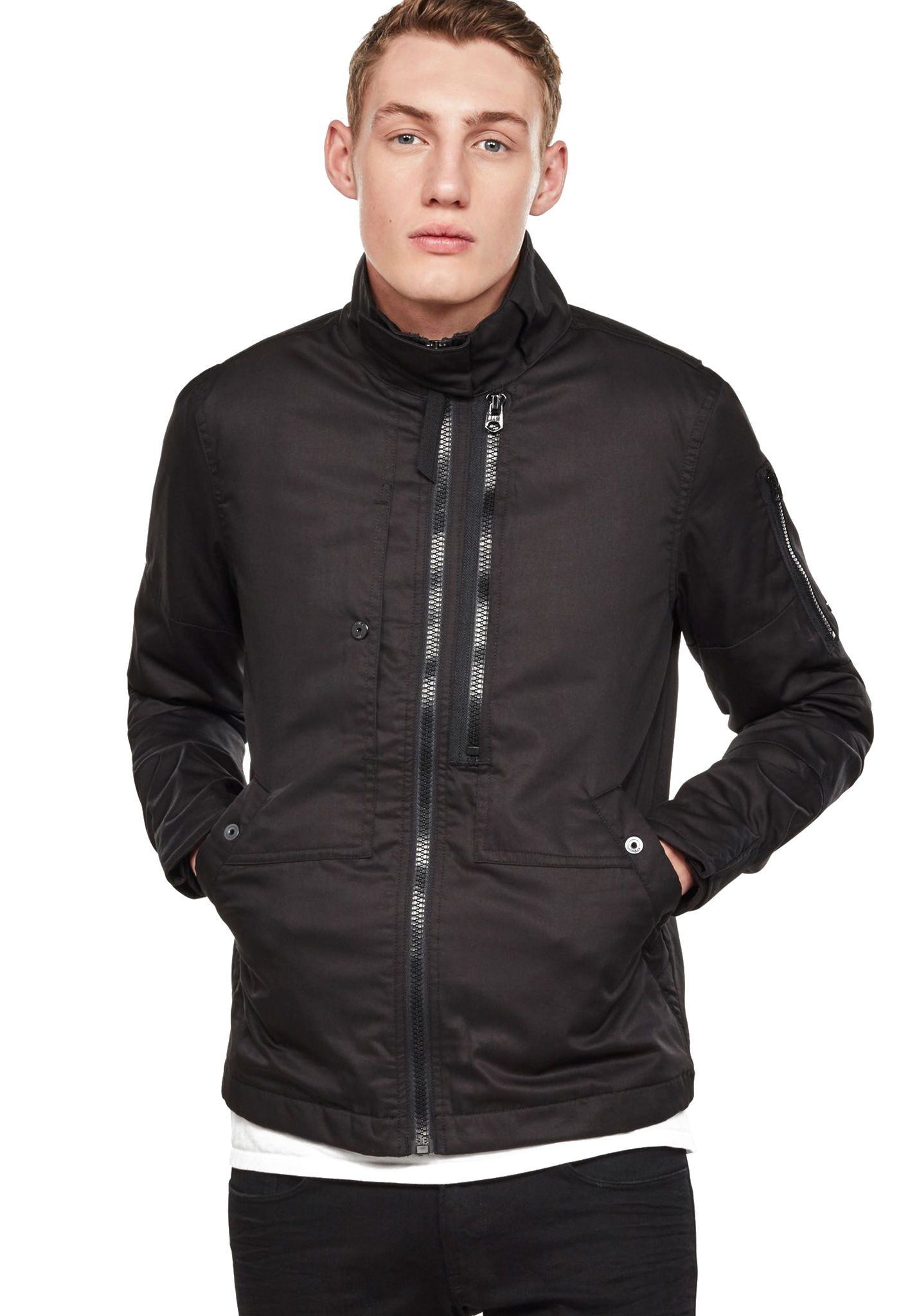 new cheap nice cheap reliable quality G-STAR Rackam Utility Padded - Jacket for Men - Black