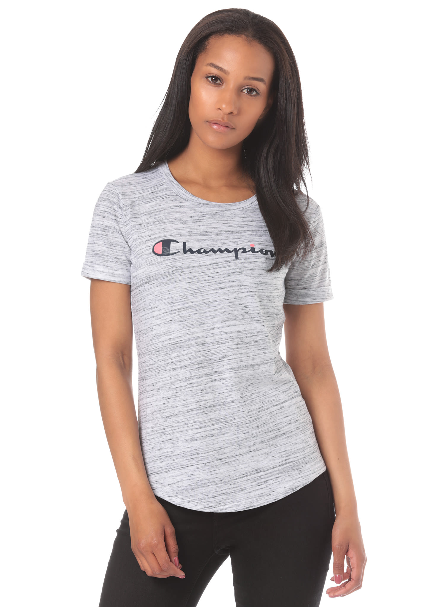 Champion American Classics - T-Shirt for Women - Grey - Planet Sports 403630ba9