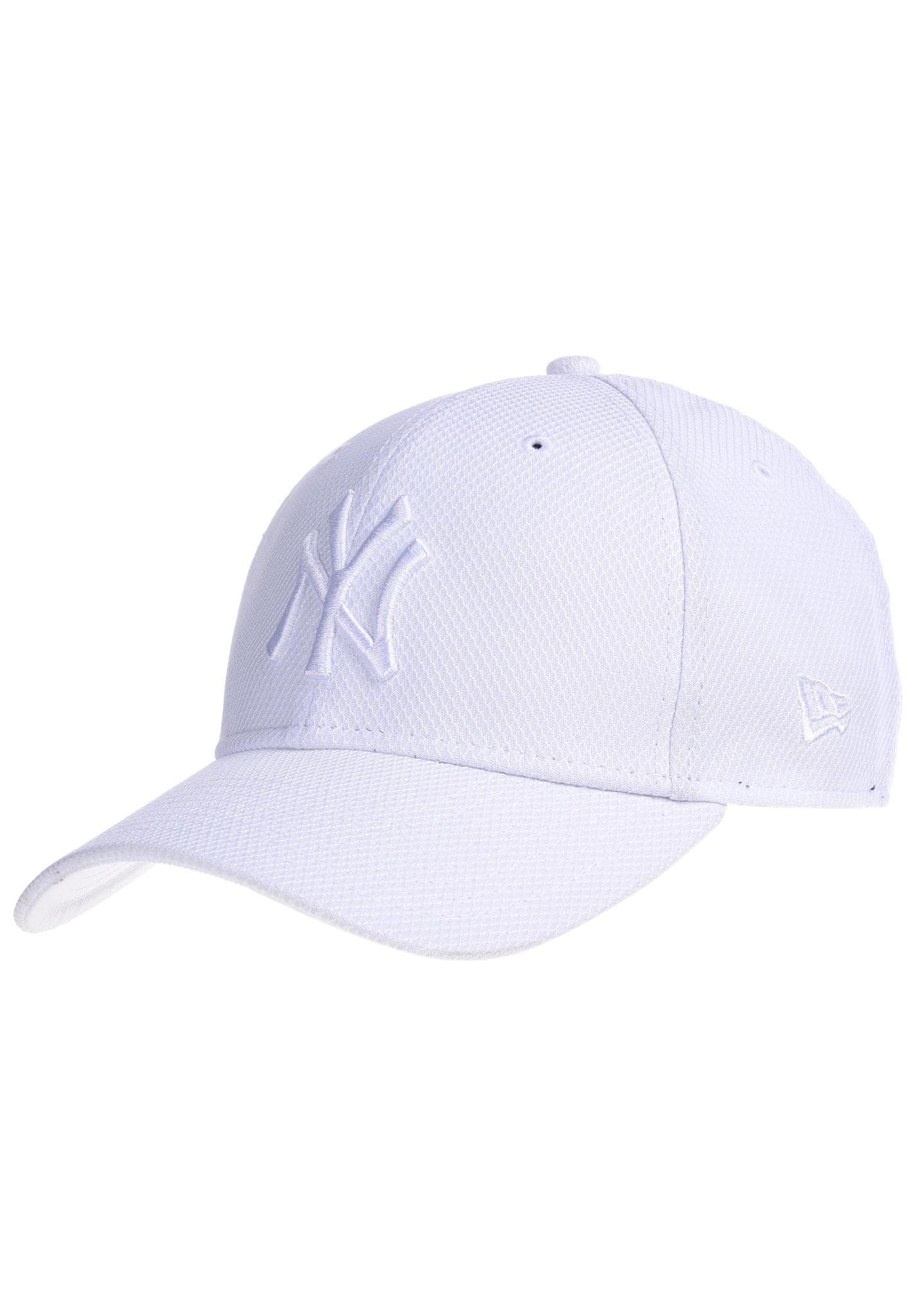 3fecd76bed487 NEW Era 9Forty Diamond New York Yankees - Cap - White - Planet Sports
