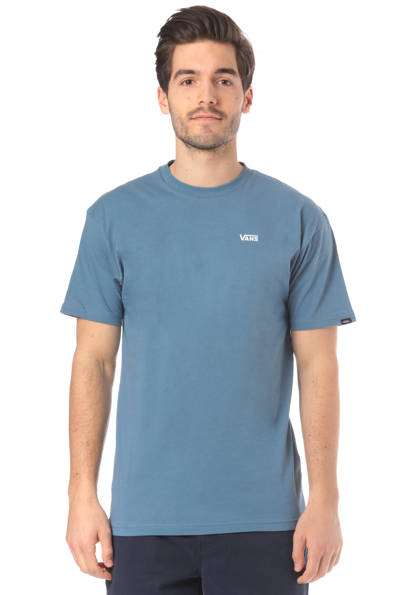 af999a85c1c13a Vans Left Chest Logo - T-Shirt for Men - Blue - Planet Sports