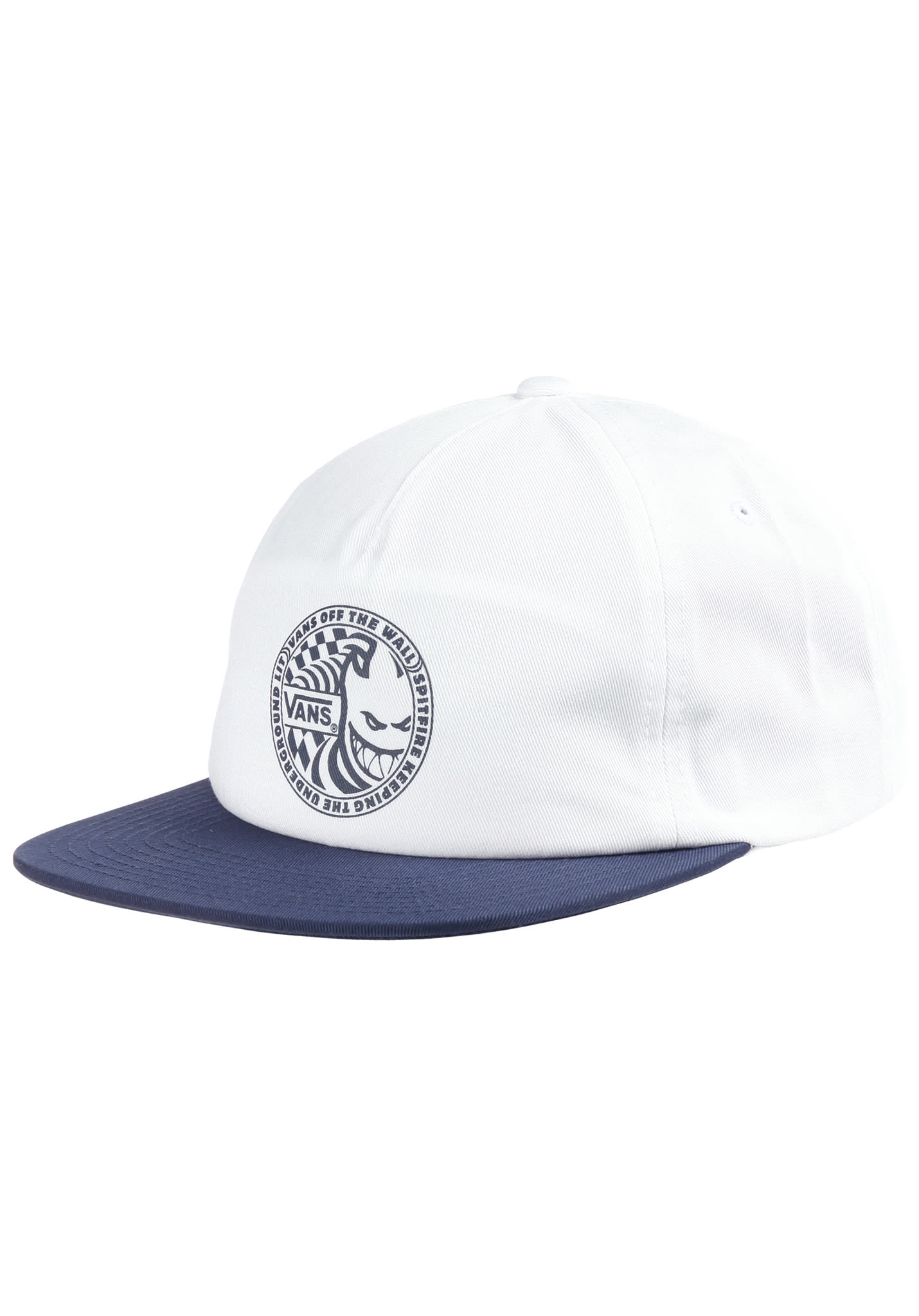 b73328c863 Vans X Spitfire Shallow Unstructured - Snapback Cap for Men - White ...