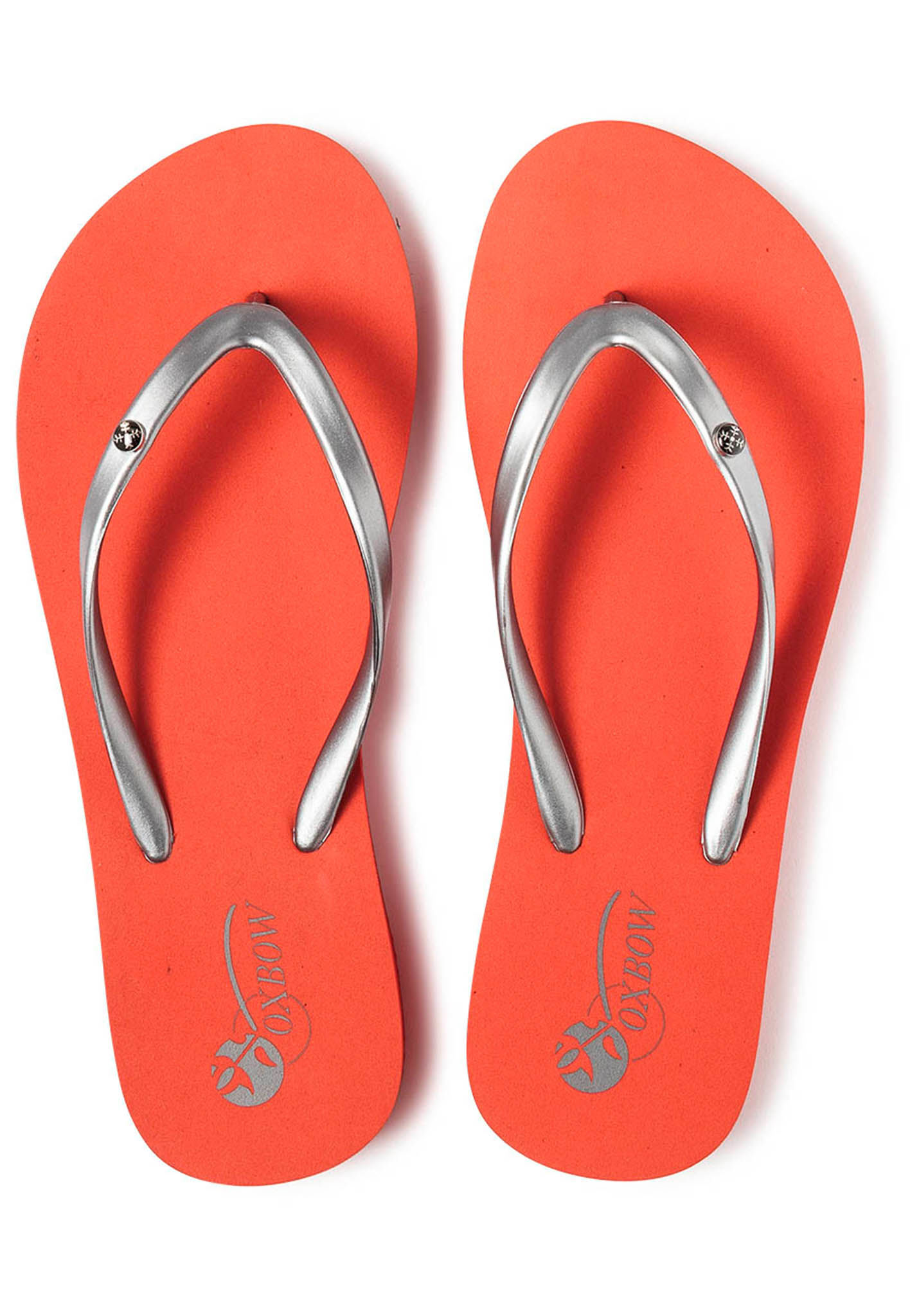 c935d781a0 OXBOW Vaccara - Tongs pour Femme - Rouge - Planet Sports