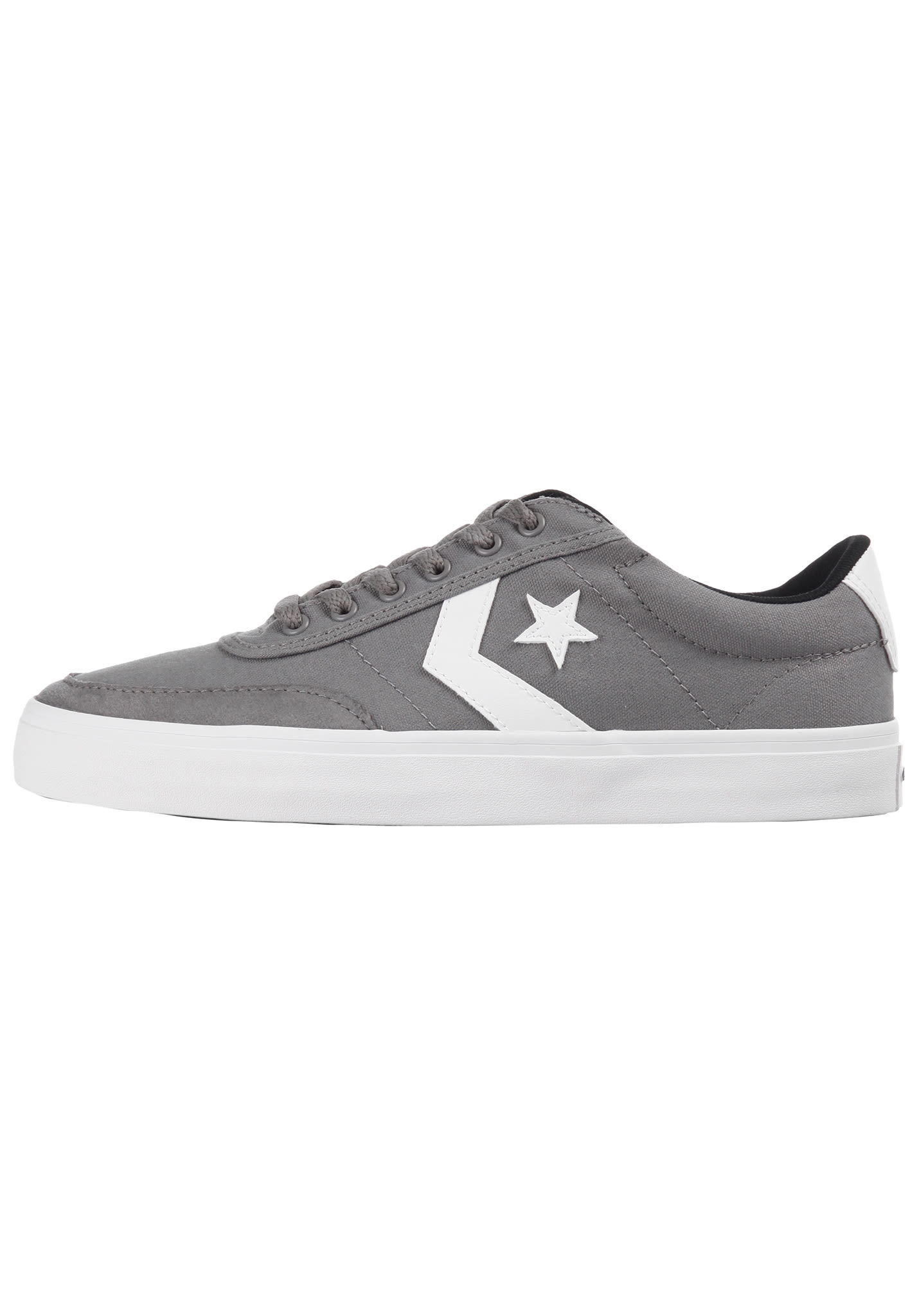 975ba9faec8 Converse Courtland OX - Sneakers voor Heren - Grijs - Planet Sports