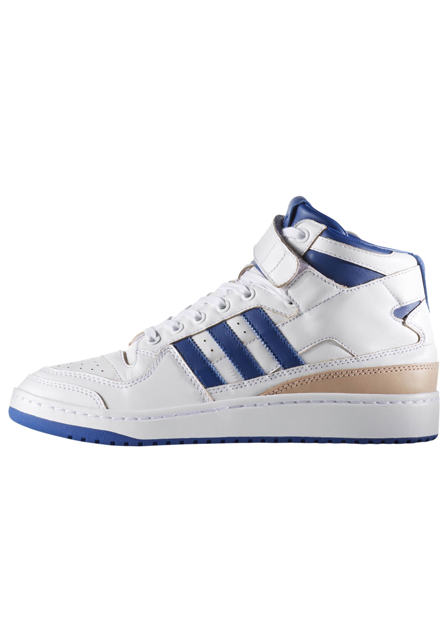 classic fit f573f 5e32f ADIDAS ORIGINALS Forum Mid Wrap - Sneakers for Men - White - Planet Sports