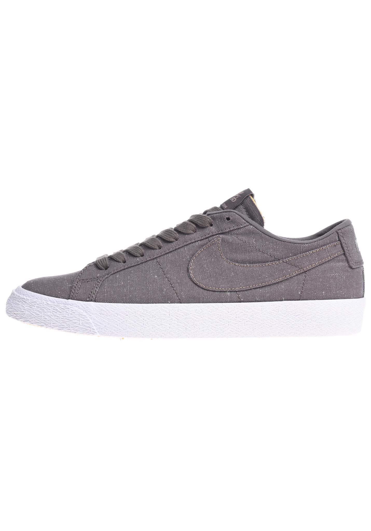 super popular 2738e 7a2c8 NIKE SB Zoom Blazer Low Canvas Decon - Sneakers voor Heren - Grijs - Planet  Sports