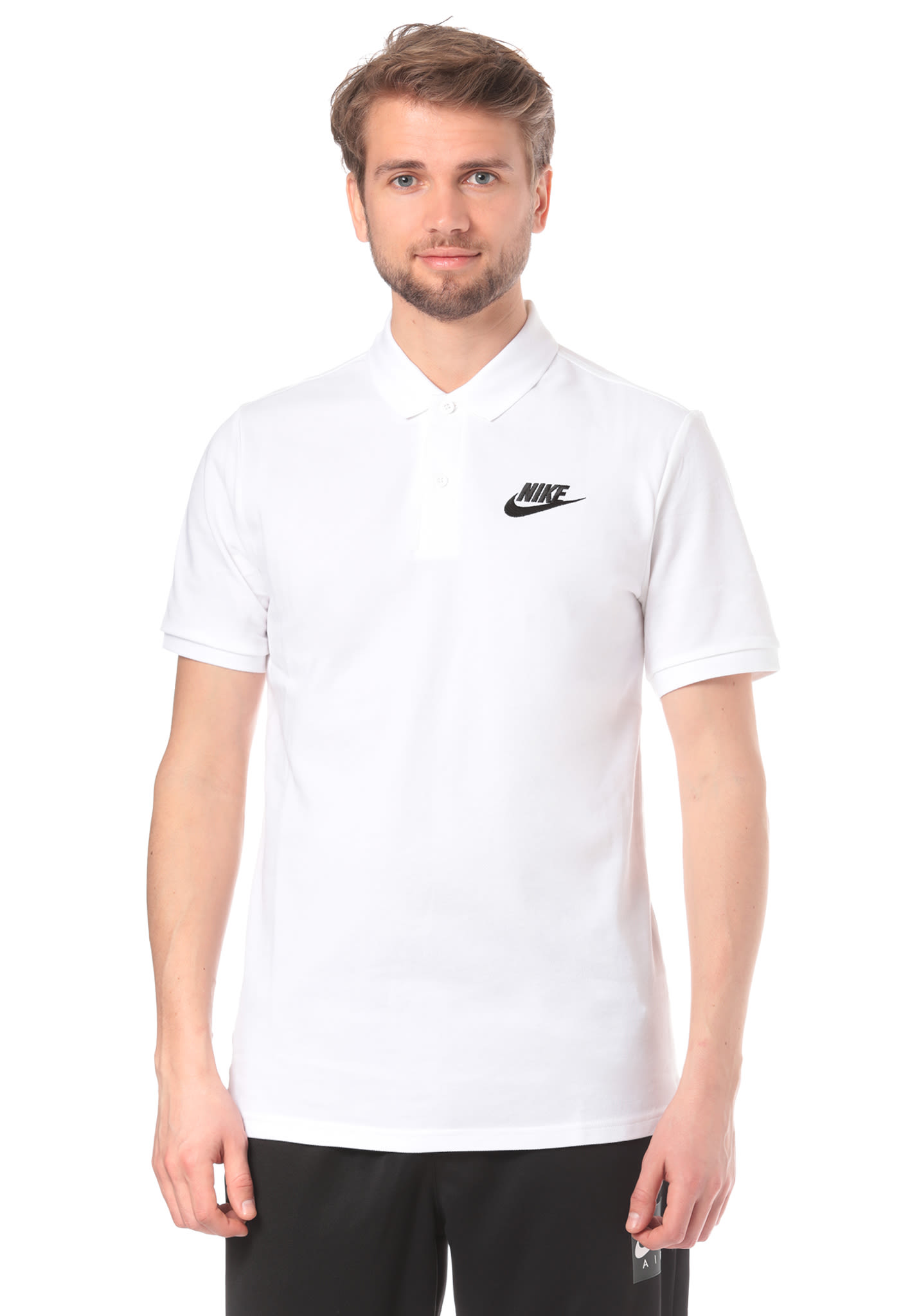 c4af836c NIKE SPORTSWEAR Matchup PQ - Polo Shirt for Men - White - Planet Sports