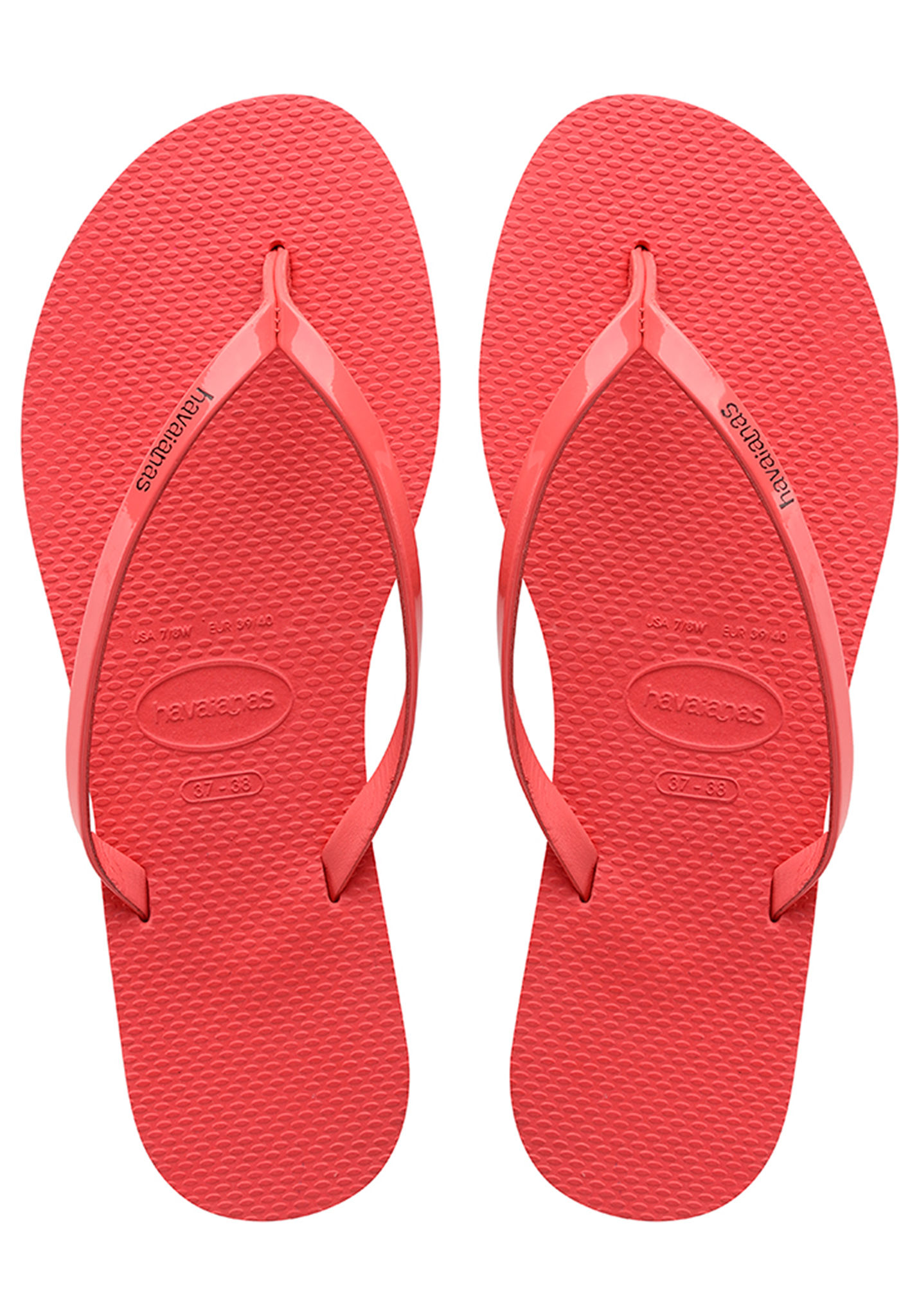 cec0970b66eb6f HAVAIANAS You Metallic - Sandals for Women - Red - Planet Sports