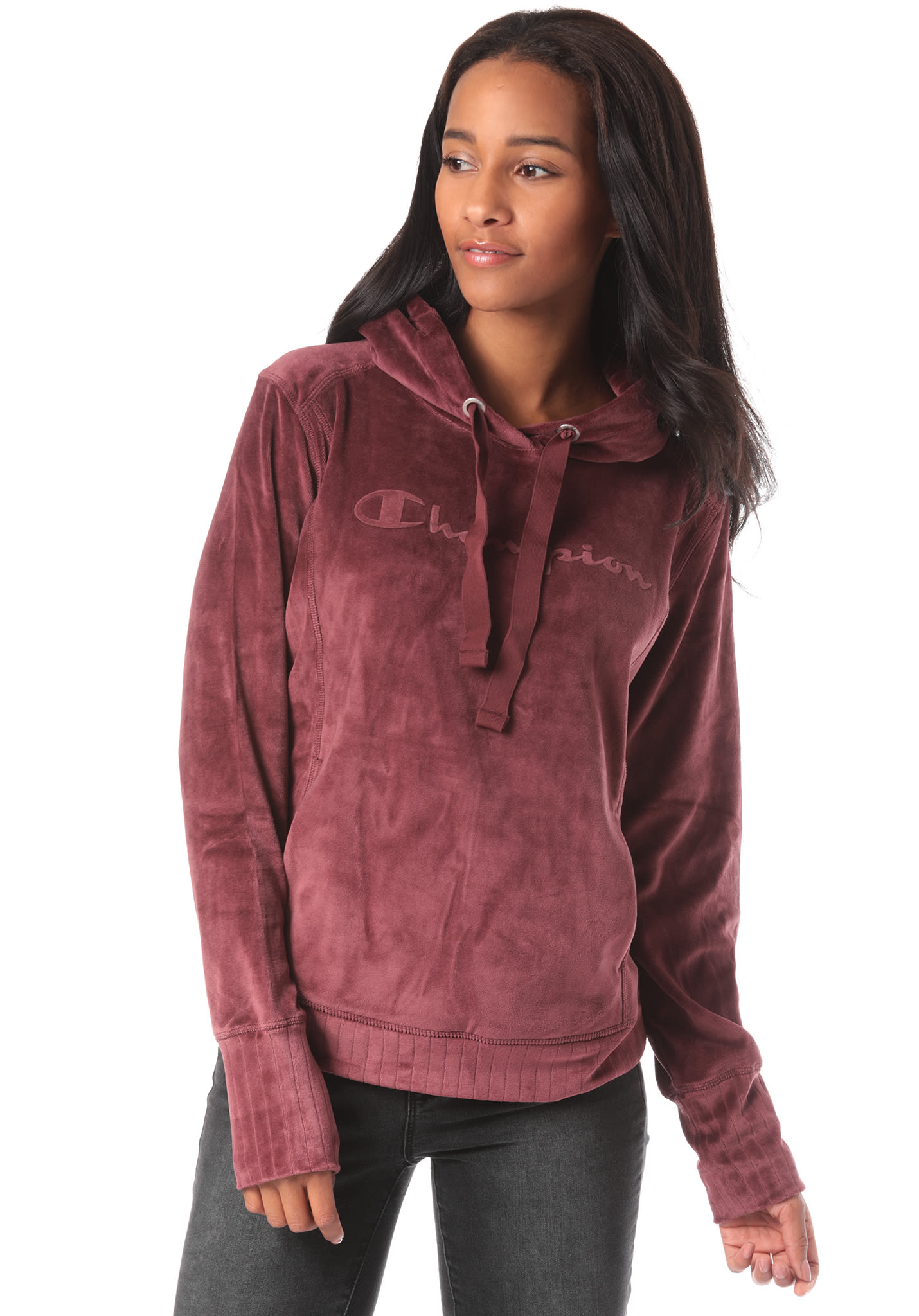 4c2651ac7099 Champion Hooded - Hooded Sweatshirt for Women - Red - Planet Sports