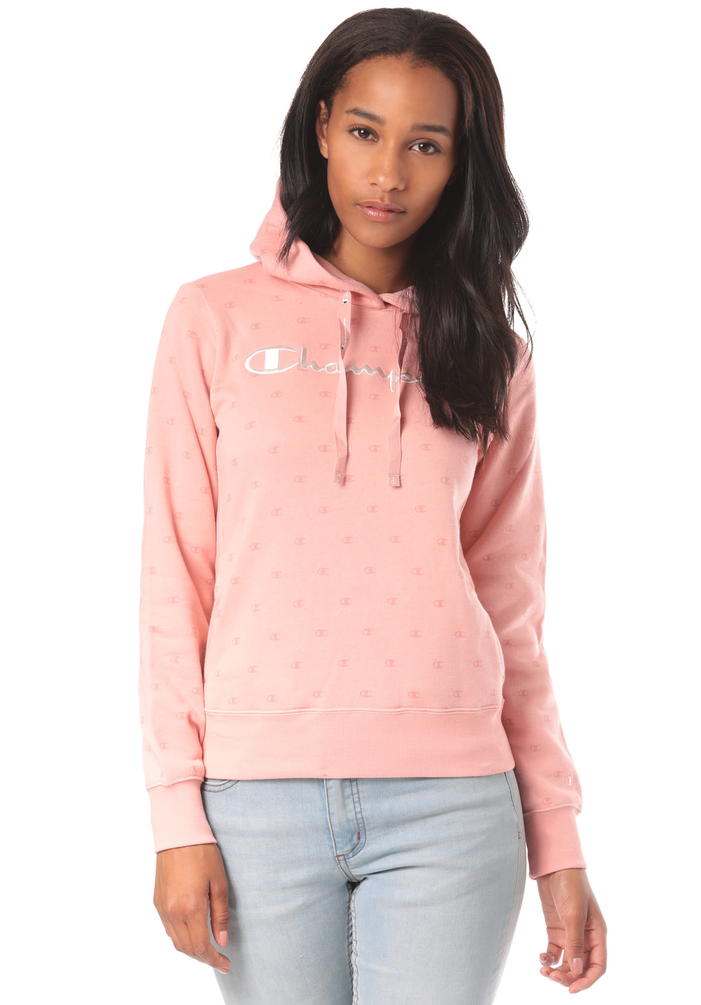 db6d34d289c3 Champion Hooded - Hooded Sweatshirt for Women - Pink - Planet Sports