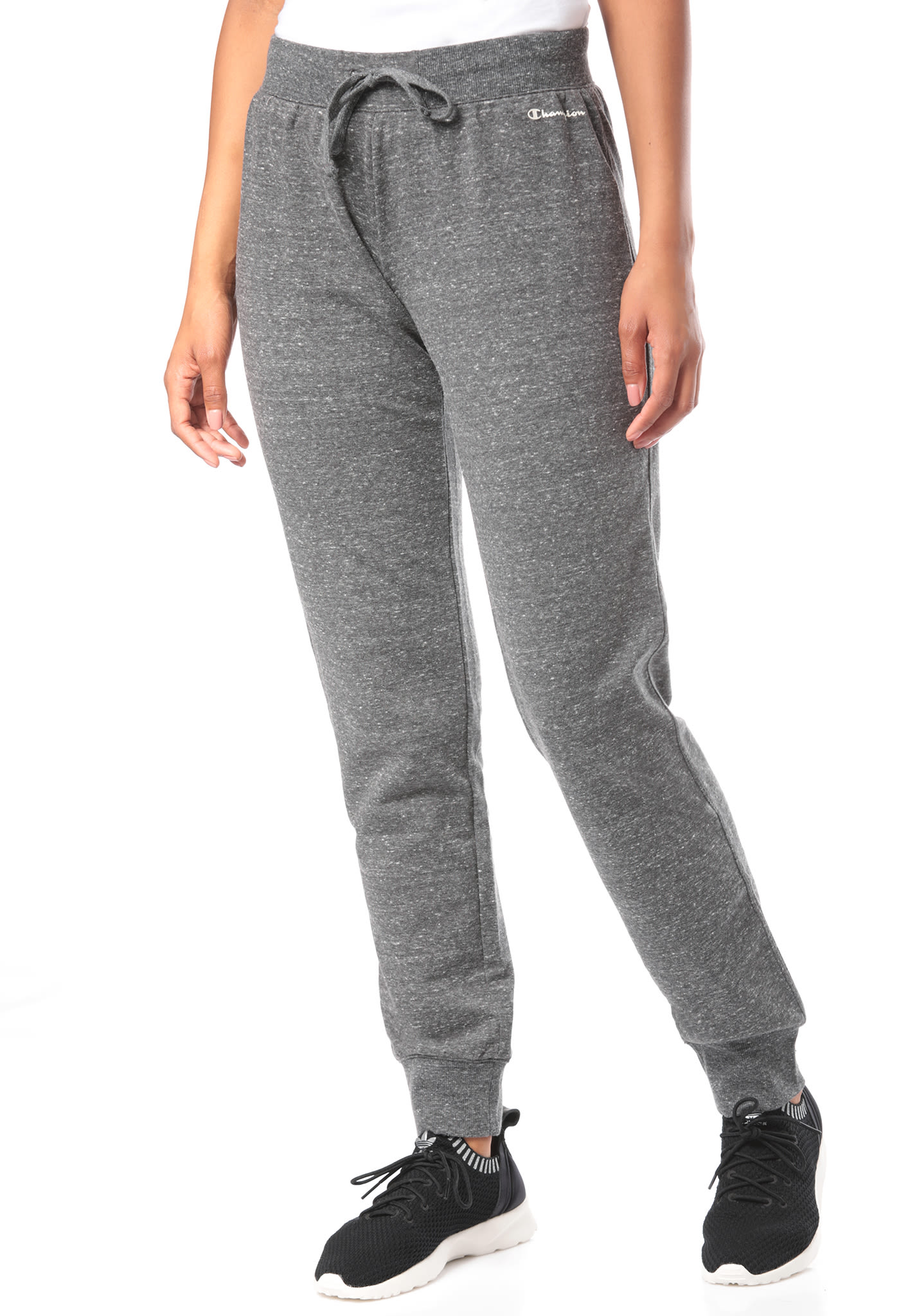 302196bb5e03 Champion Rib Cuff - Trackpants for Women - Grey - Planet Sports