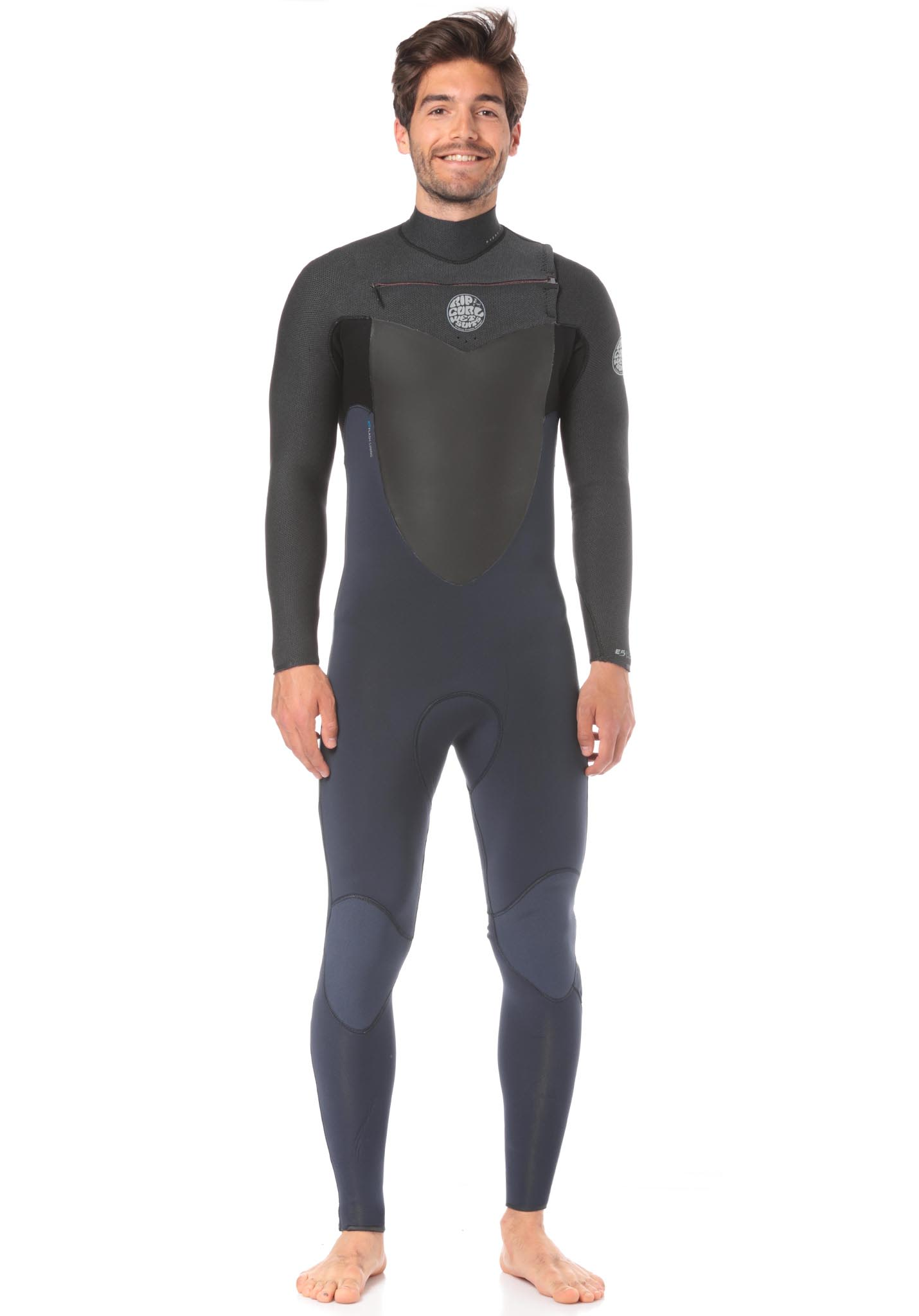 0cea9aae6951 Rip Curl Flashbomb 3/2mm Chest Zip - Wetsuit for Men - Black - Planet Sports