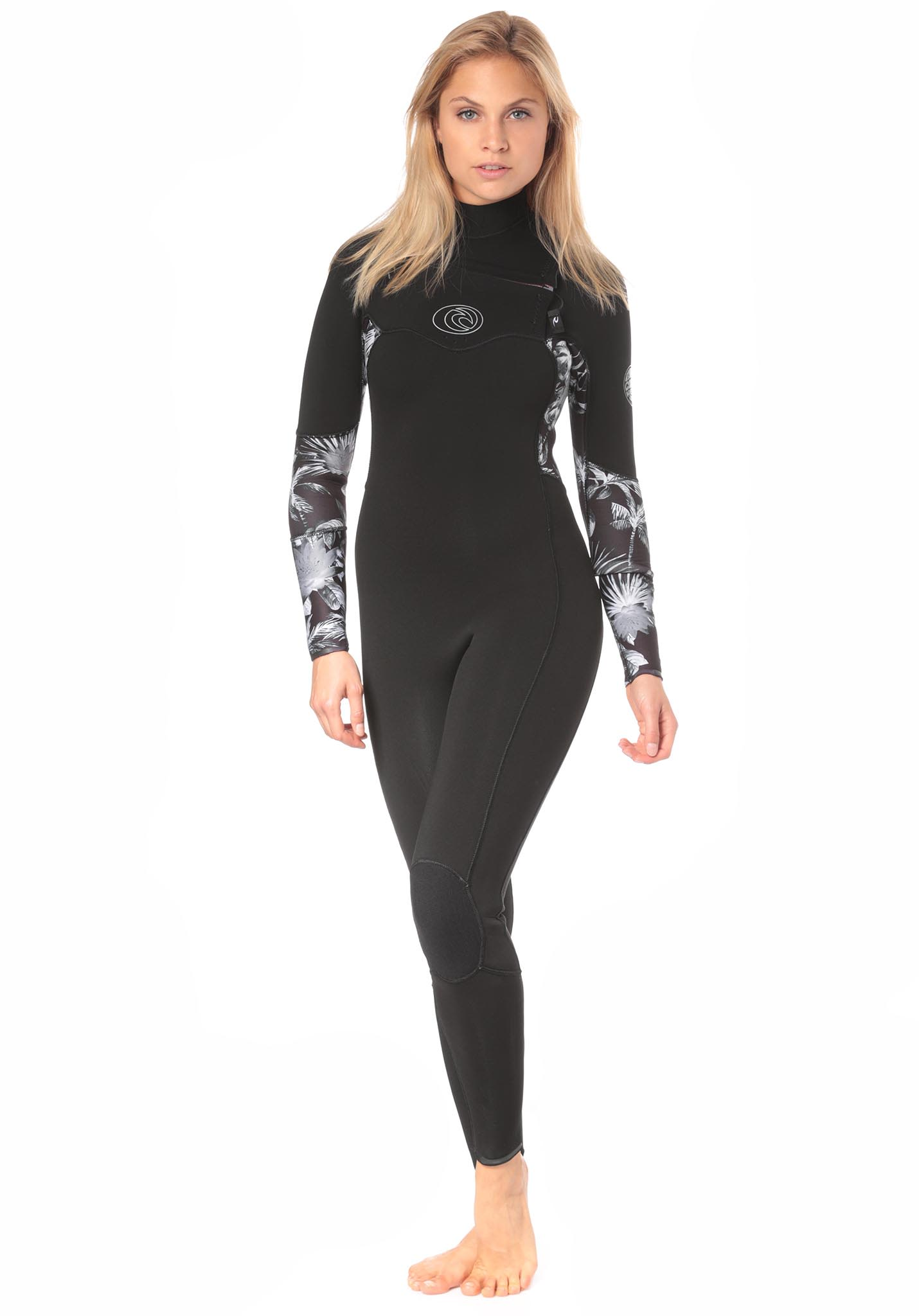 Rip Curl Flashbomb 3 2mm Chest Zip - Wetsuit for Women - Black - Planet  Sports 1f271e117