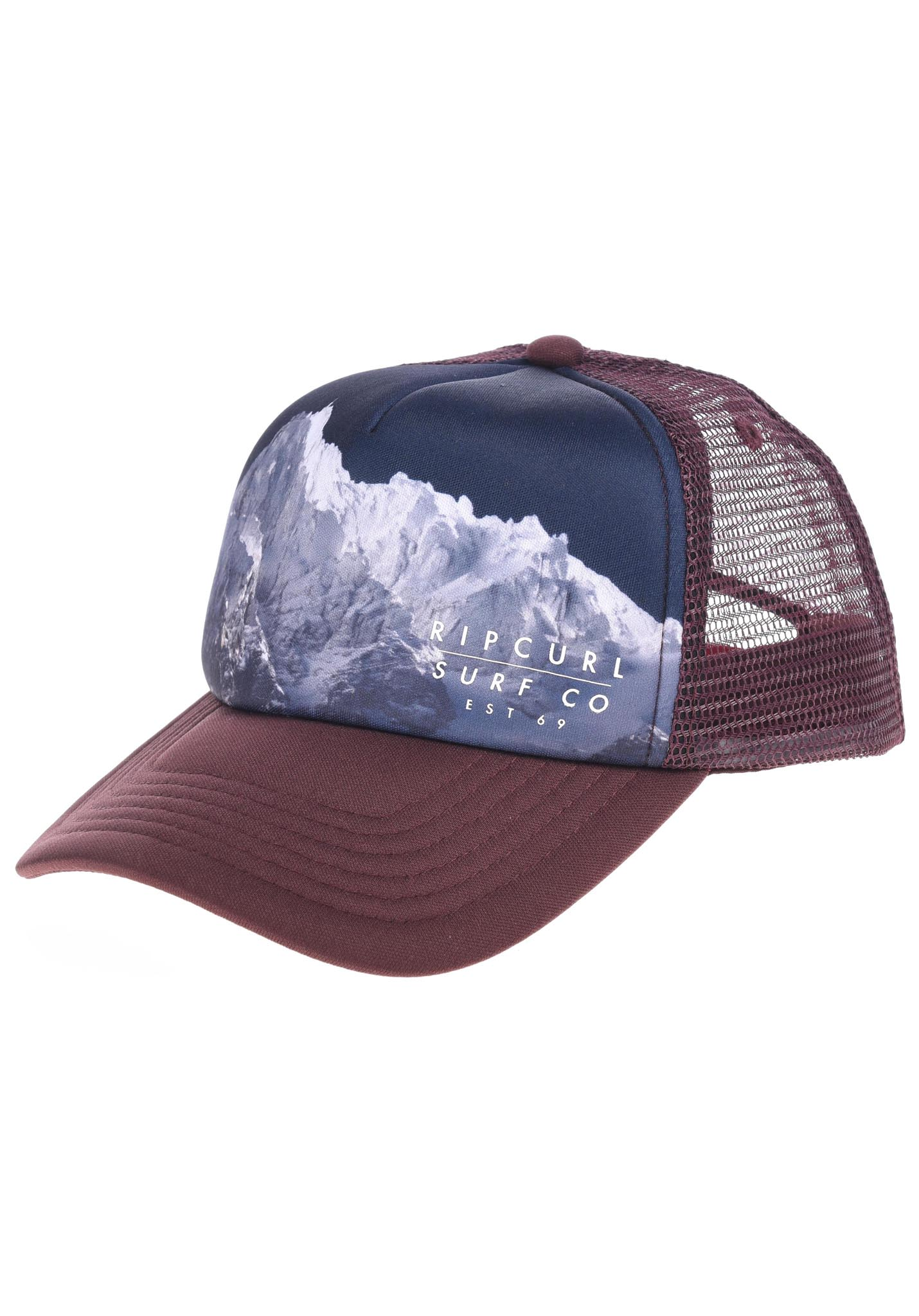 297ac230 Rip Curl Sublimation Photo - Trucker Cap for Kids Boys - Brown - Planet  Sports