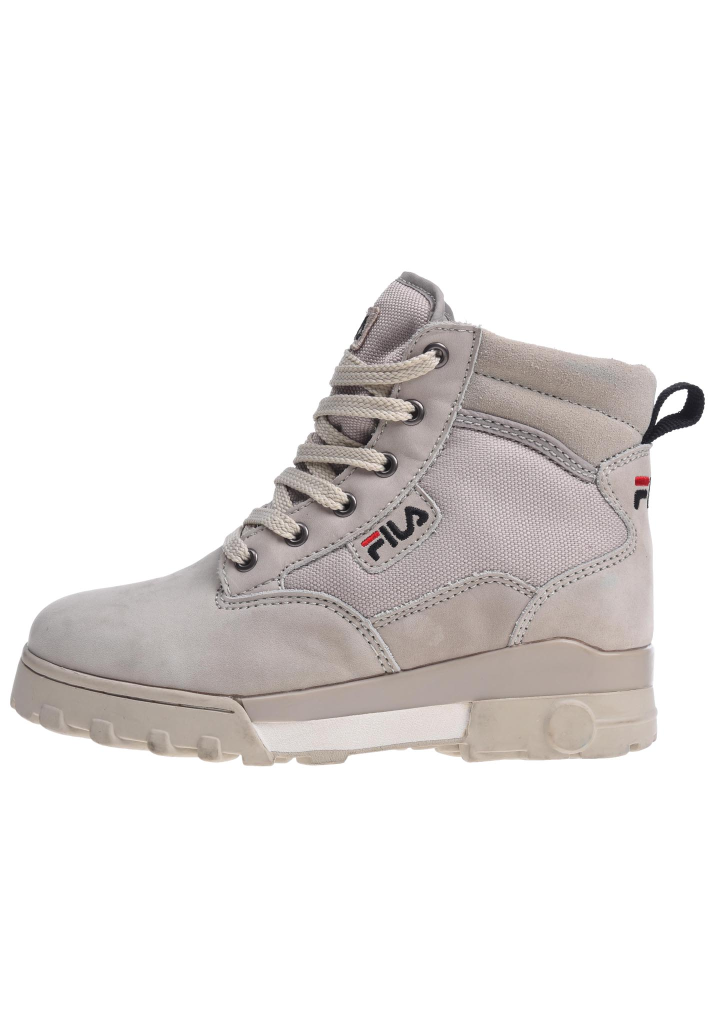 02240d3e57d Fila Heritage Grunge MID - Fashion Shoes for Women - Grey