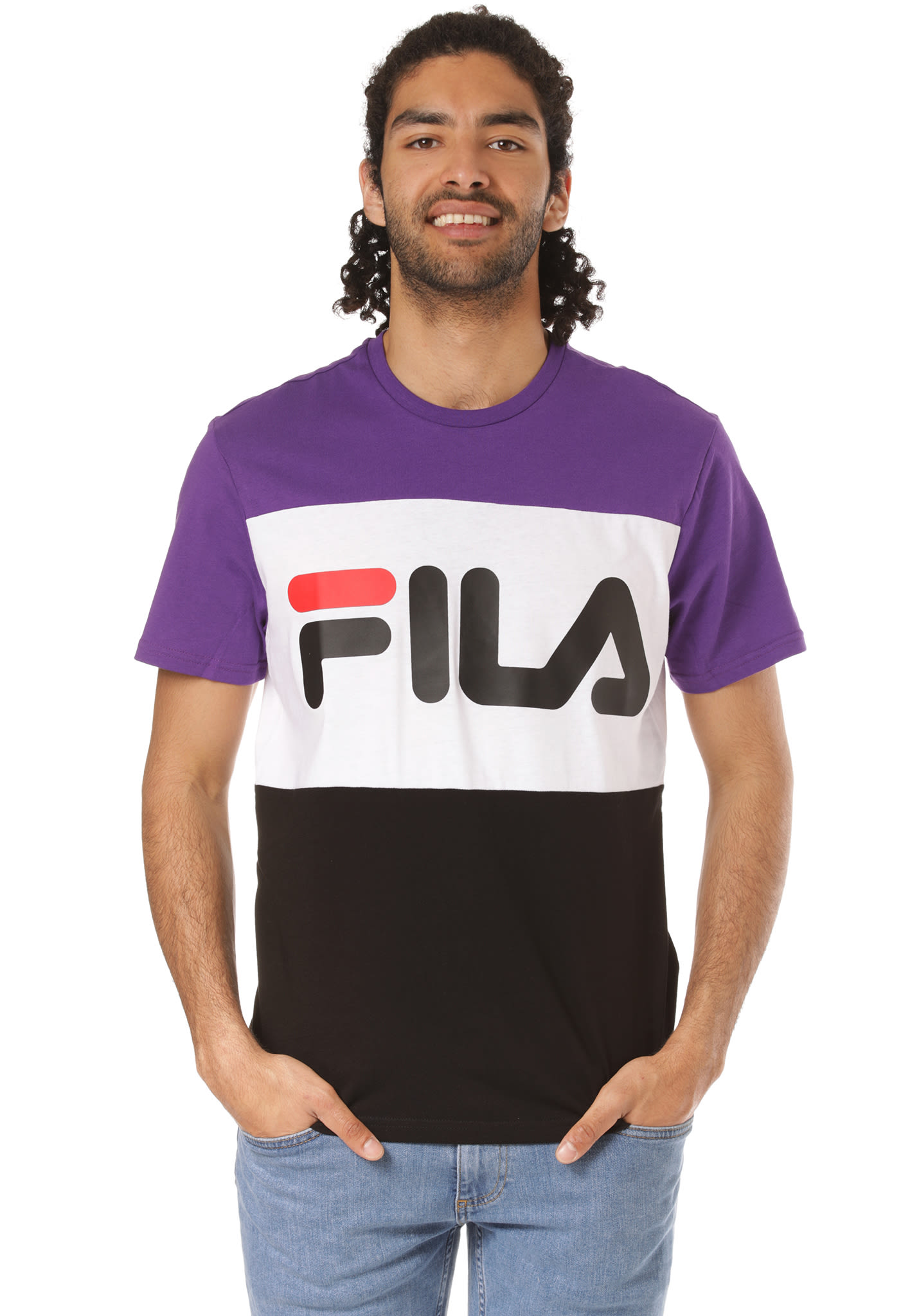 35591e2cf1421a Fila Urban Line Day - T-Shirt für Herren - Schwarz - Planet Sports