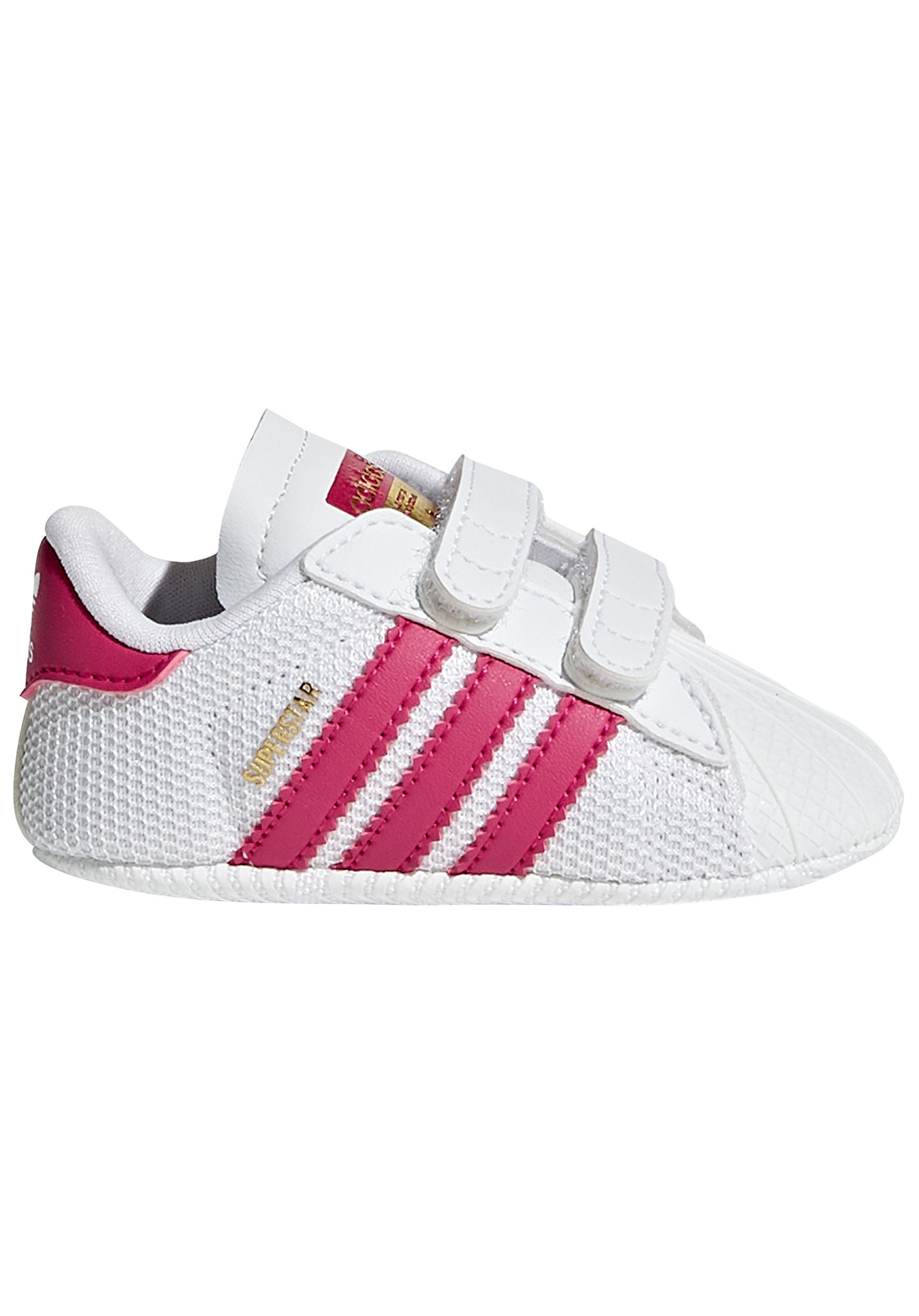ADIDAS ORIGINALS Superstar Crib - Sneakers - White - Planet Sports 2cbee4dccb0
