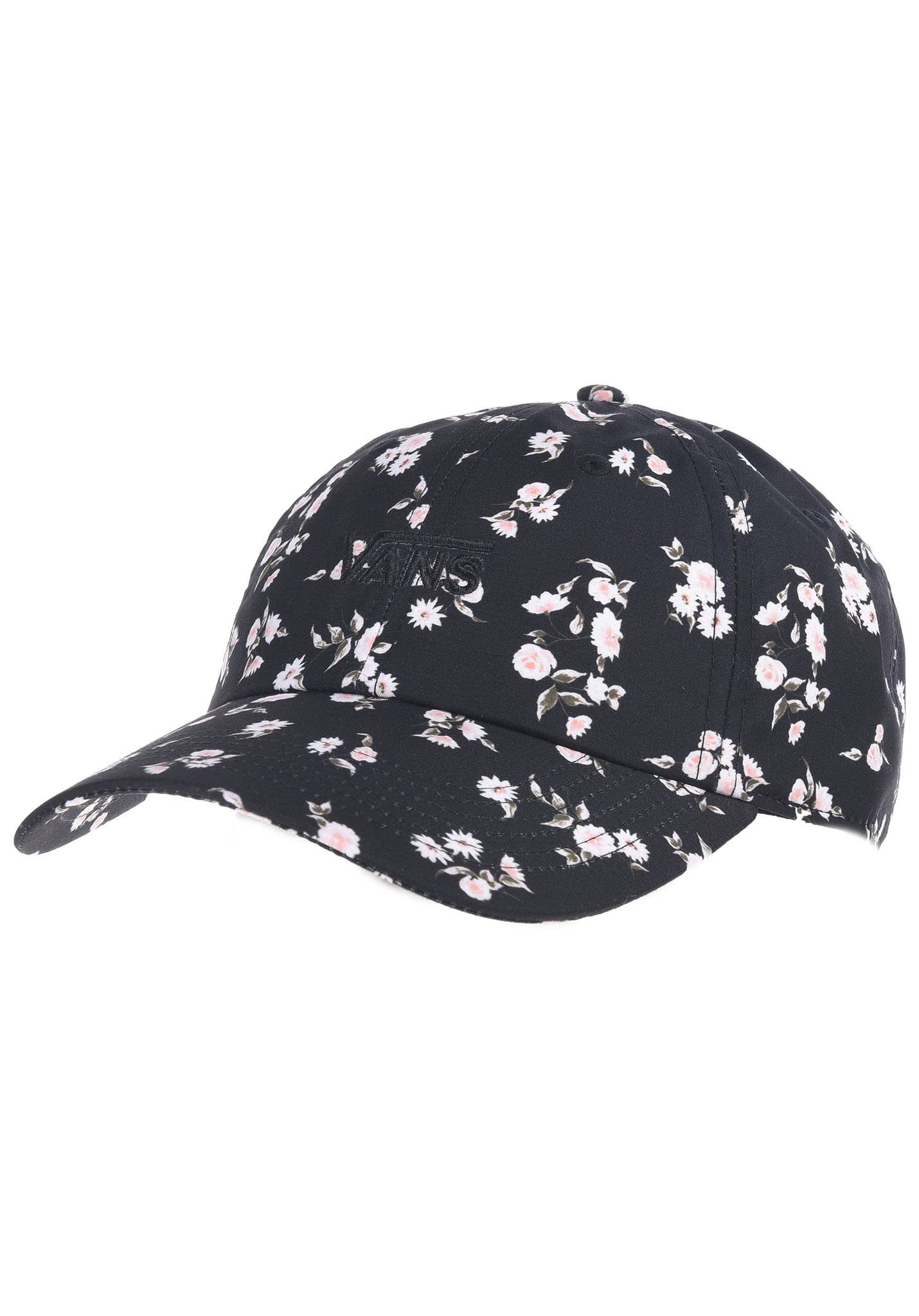65dd30066fa0c8 VANS Court Side Printed - Cap für Damen - Schwarz - Planet Sports
