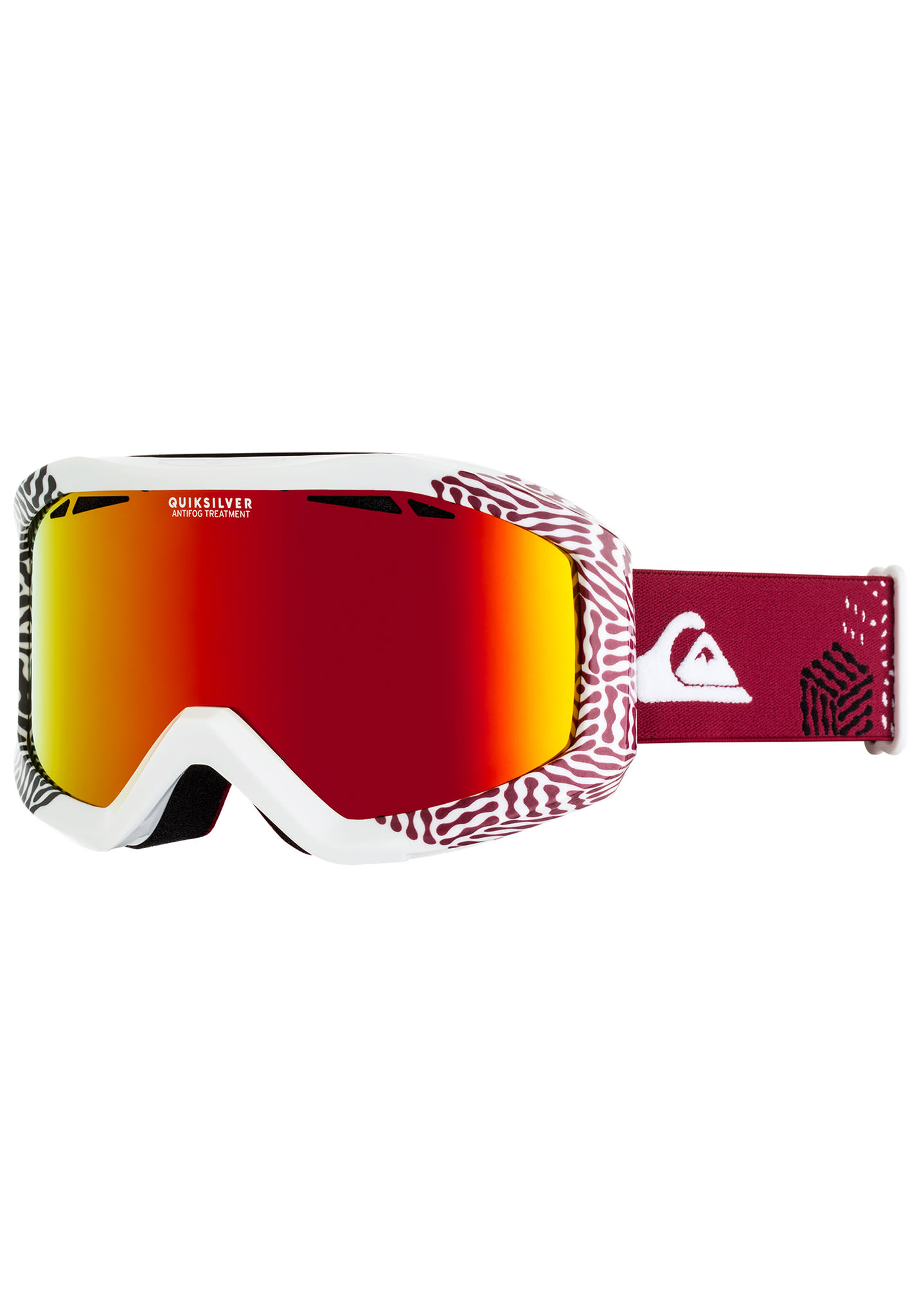 a55e32cba31 Quiksilver Fenom - Snowboard Goggle for Men - White - Planet Sports