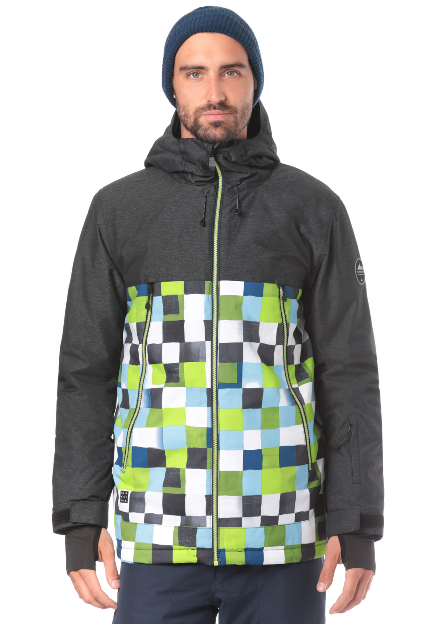 9d96641c3df Quiksilver Sierra - Snowboard Jacket for Men - Green - Planet Sports