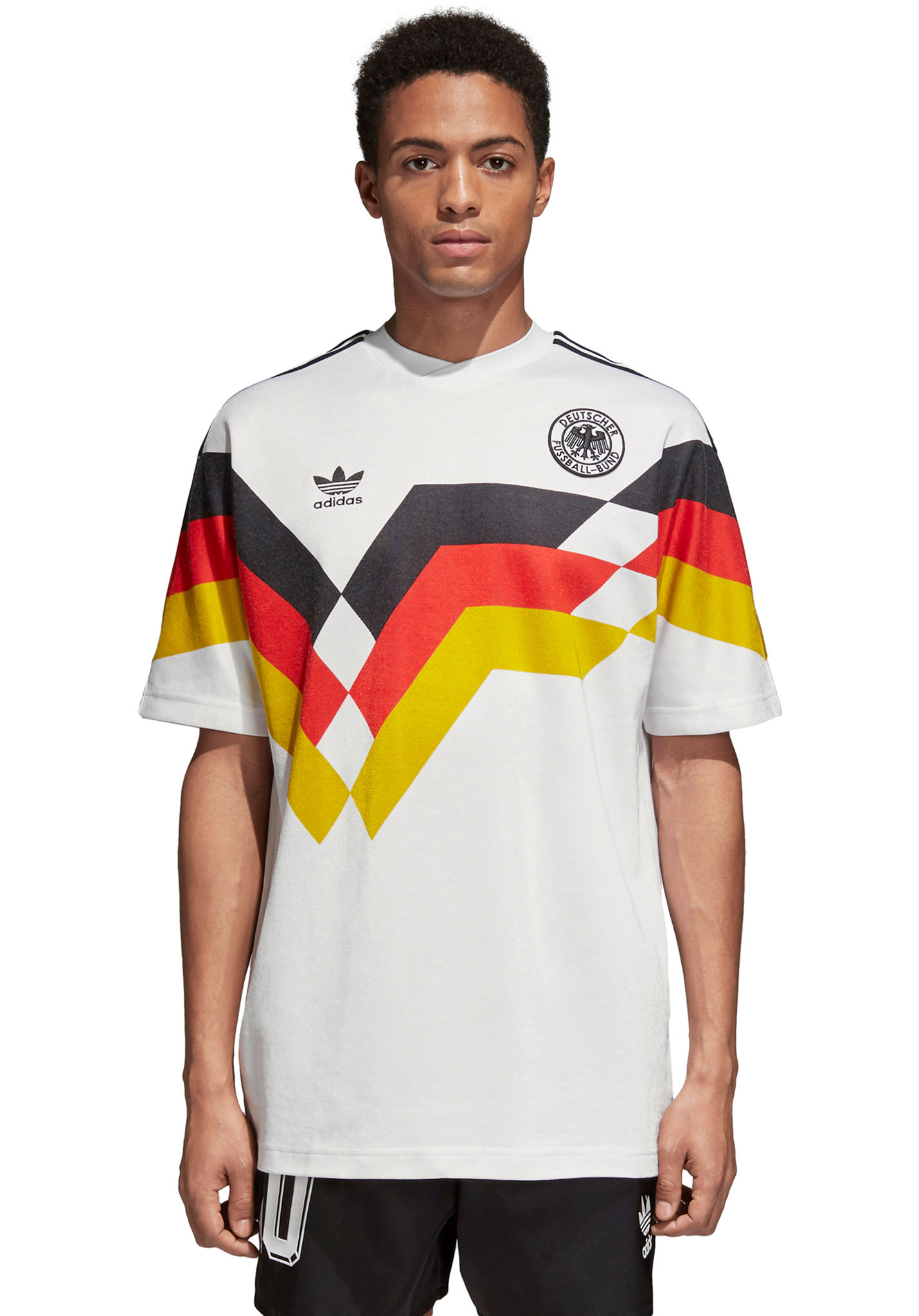 b5d3bb0624ae ADIDAS ORIGINALS Germany Jersey - T-Shirt for Men - White - Planet Sports