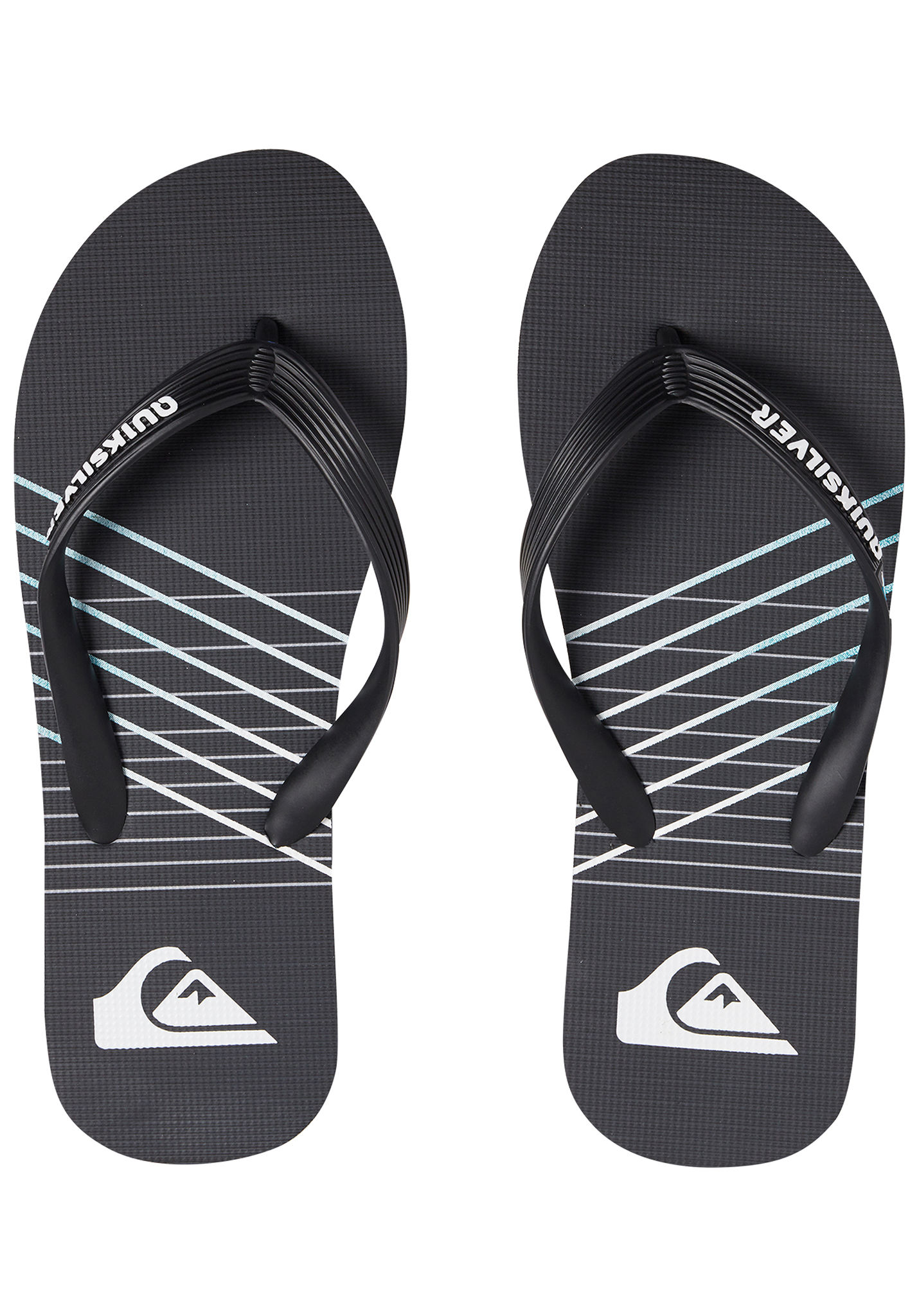 e675e305b208c7 Quiksilver Molokai Shibori - Sandals for Men - Black - Planet Sports
