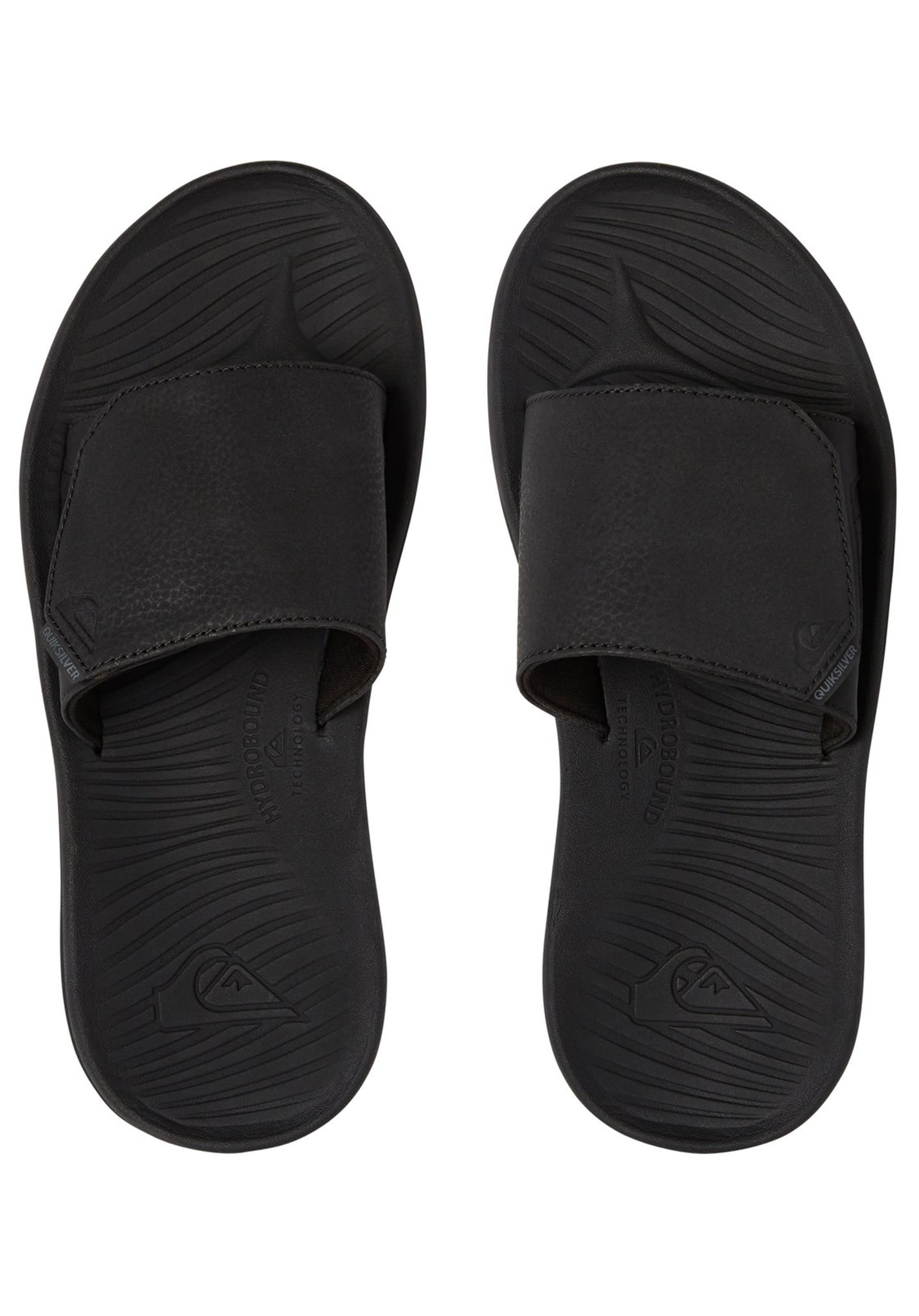 2a948d3ff57b8a Quiksilver Travel Oasis Slide - Sandals for Men - Black - Planet Sports