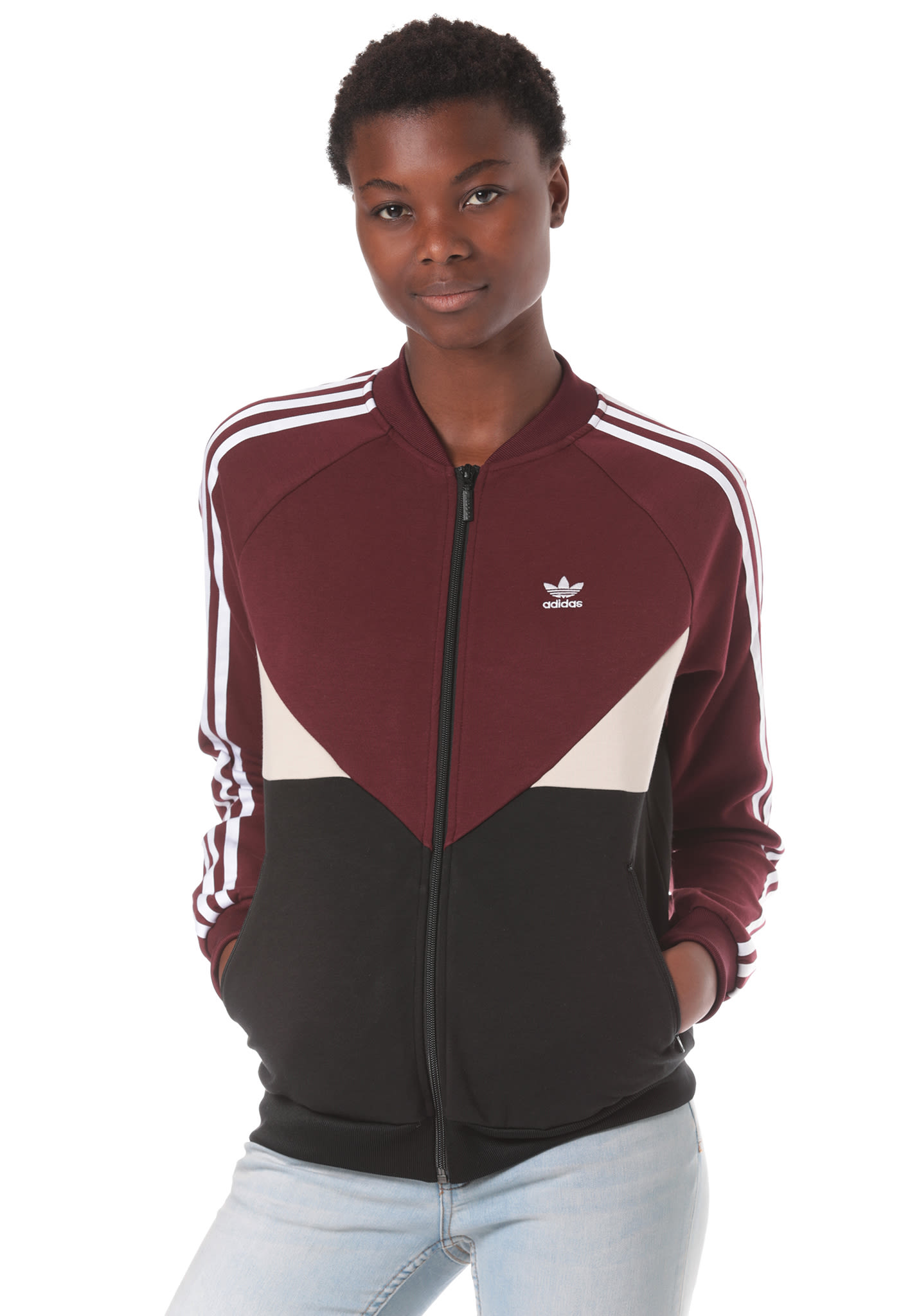 ADIDAS ORIGINALS Colorado SST - Track Top for Women - Red - Planet Sports 7f63aacfe