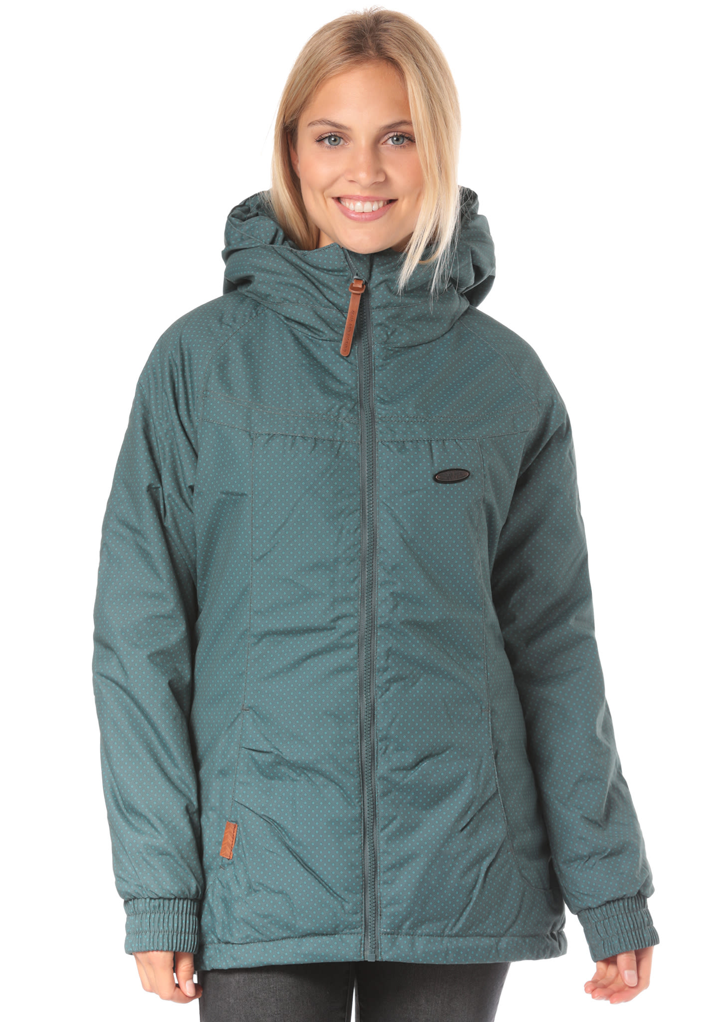 ALIFE AND KICKIN Black Mamba A - Jacket for Women - Green - Planet Sports