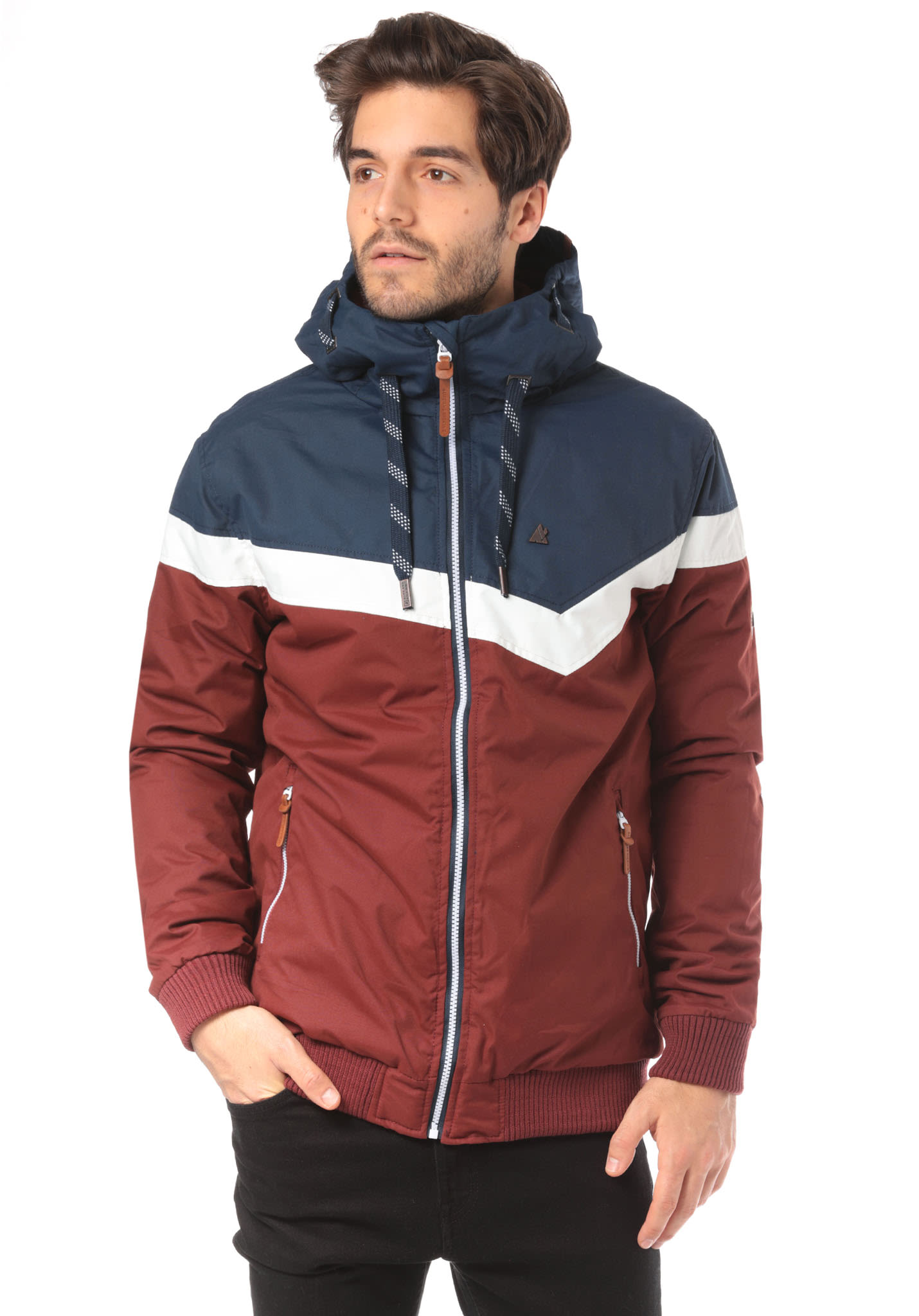 ALIFE AND KICKIN Jack - Jacket for Men - Red - Planet Sports e08cd66ce4b7