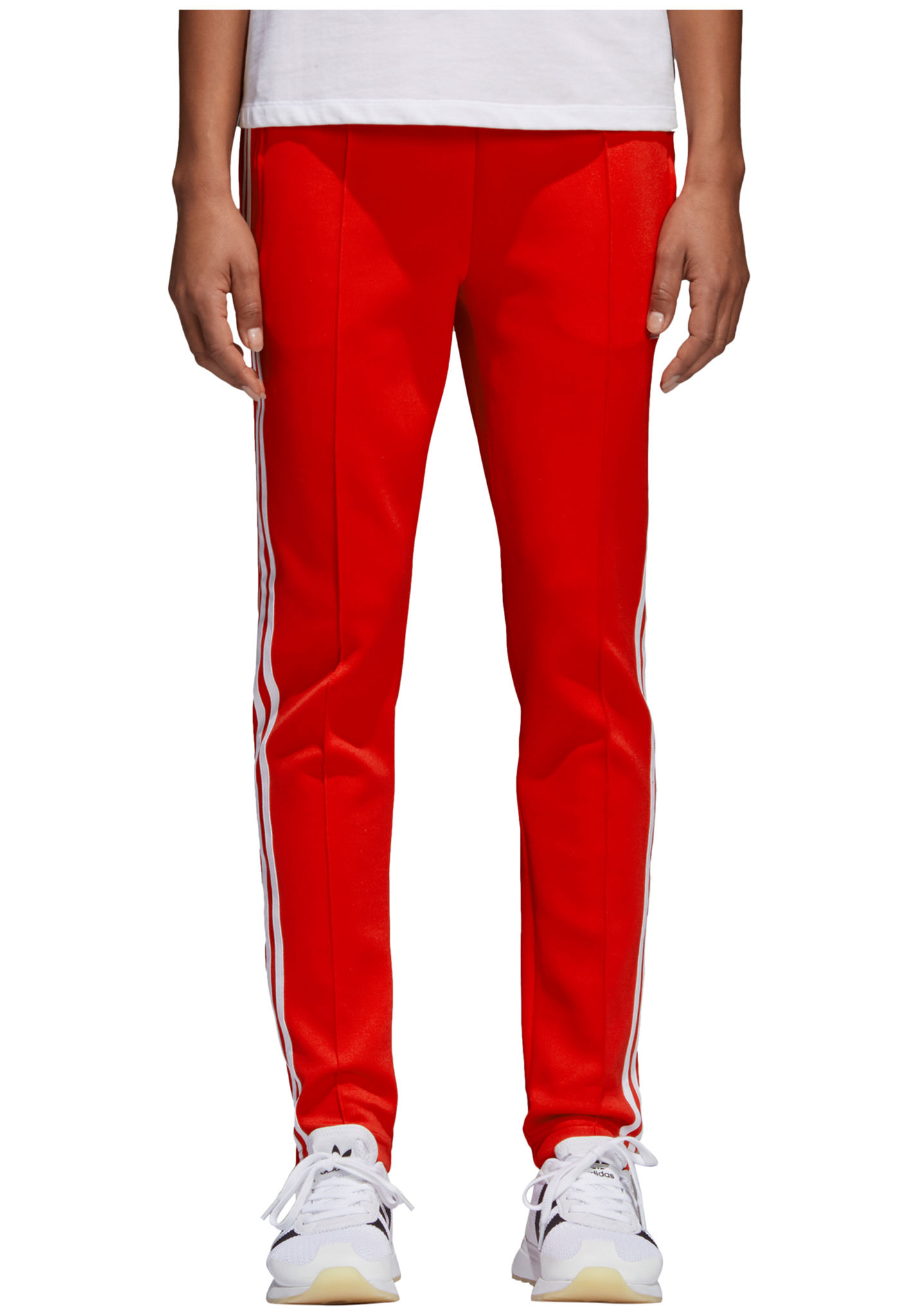 ADIDAS ORIGINALS Sst - Trainingsbroek voor Dames - Rood