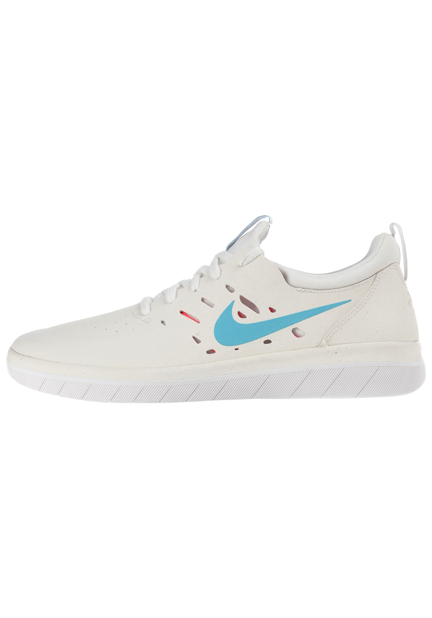 on sale 536e1 579f7 NIKE SB Nyjah Free - Sneakers for Men - White - Planet Sports
