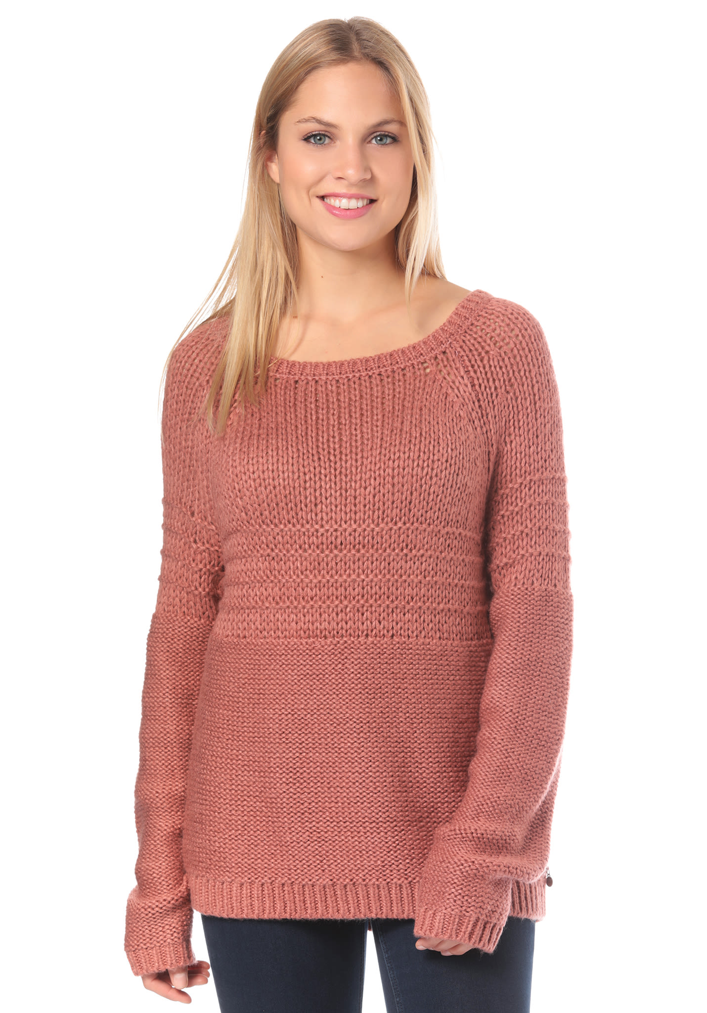 factory authentic caeb1 86e31 Roxy Urban Stories - Strickpullover für Damen - Rot