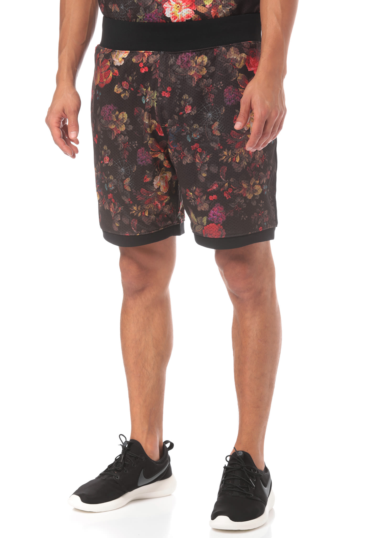 low priced 3b8f6 488a1 NIKE SB Dry Floral - Shorts for Men - Black - Planet Sports
