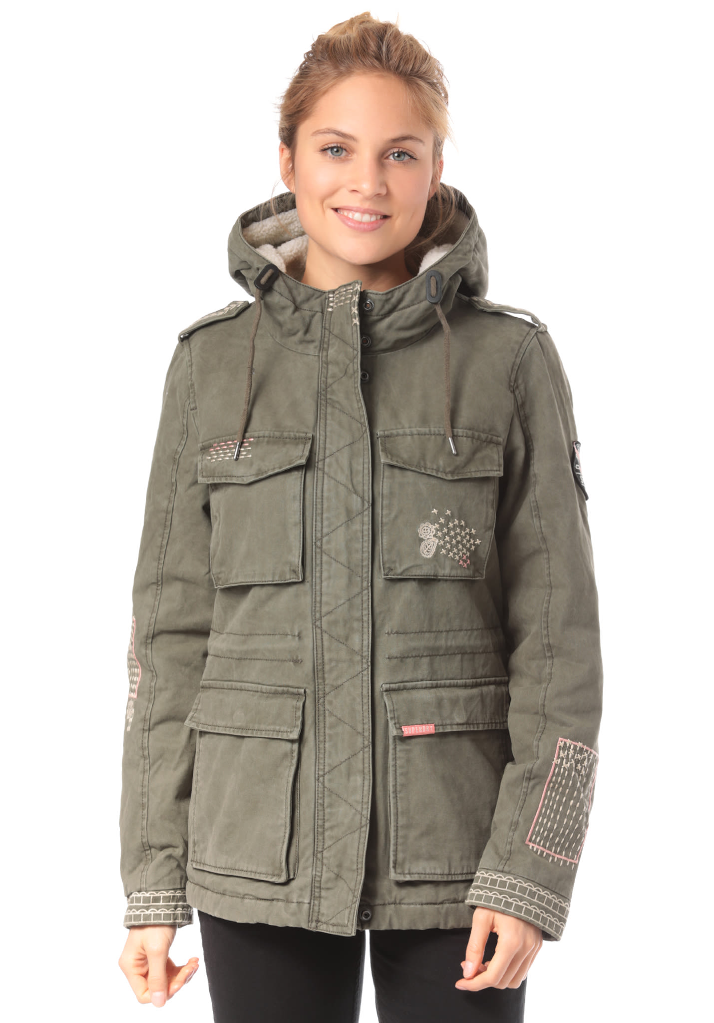 buy popular 28667 9ff28 SUPERDRY Rookie Dakota - Jacke für Damen - Grün