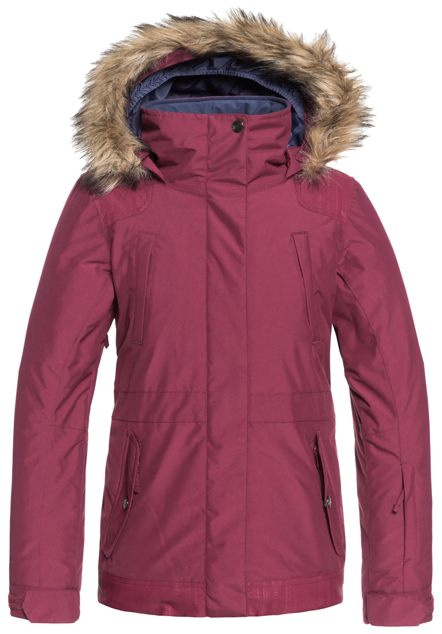bfa11093ff38e Roxy Tribe - Veste de snowboard pour Fille - Rouge - Planet Sports